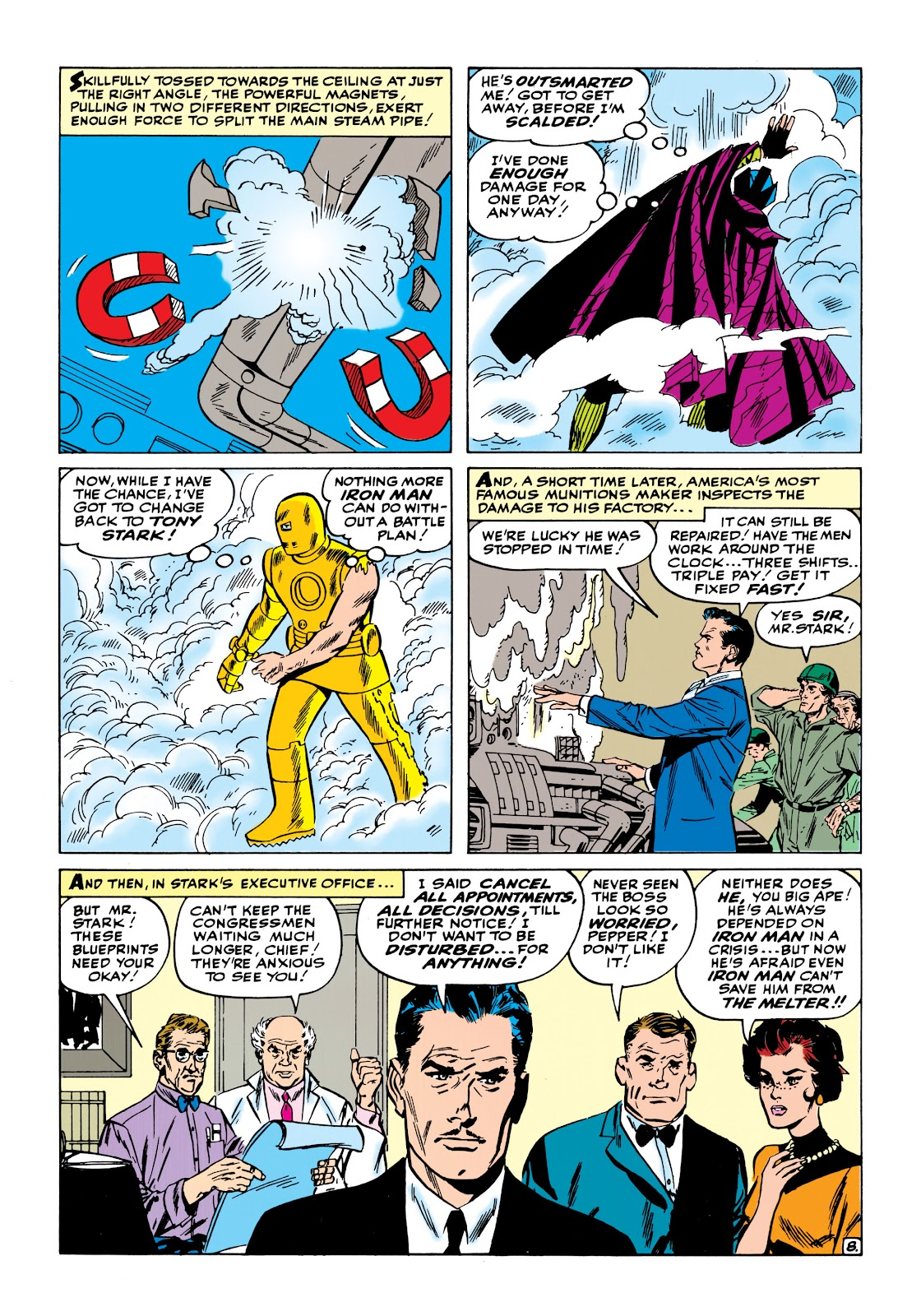 Read online Marvel Masterworks: The Invincible Iron Man comic -  Issue # TPB 1 (Part 2) - 28