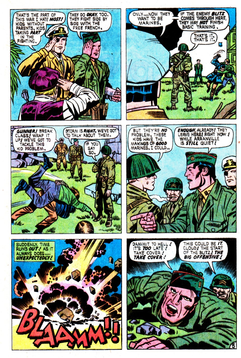 Our Fighting Forces (1954) issue 162 - Page 9