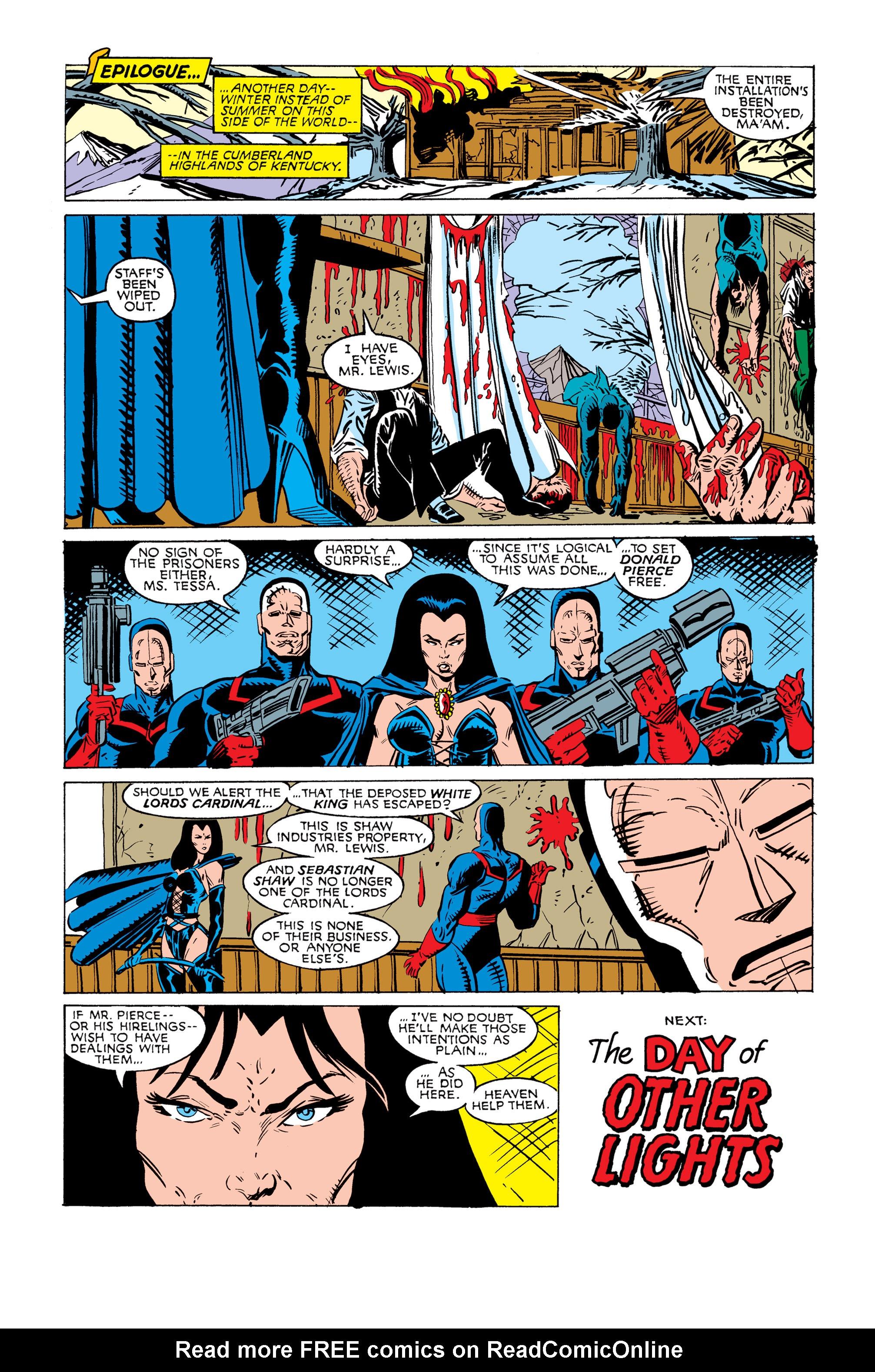 Read online Uncanny X-Men (1963) comic -  Issue #245 - 24