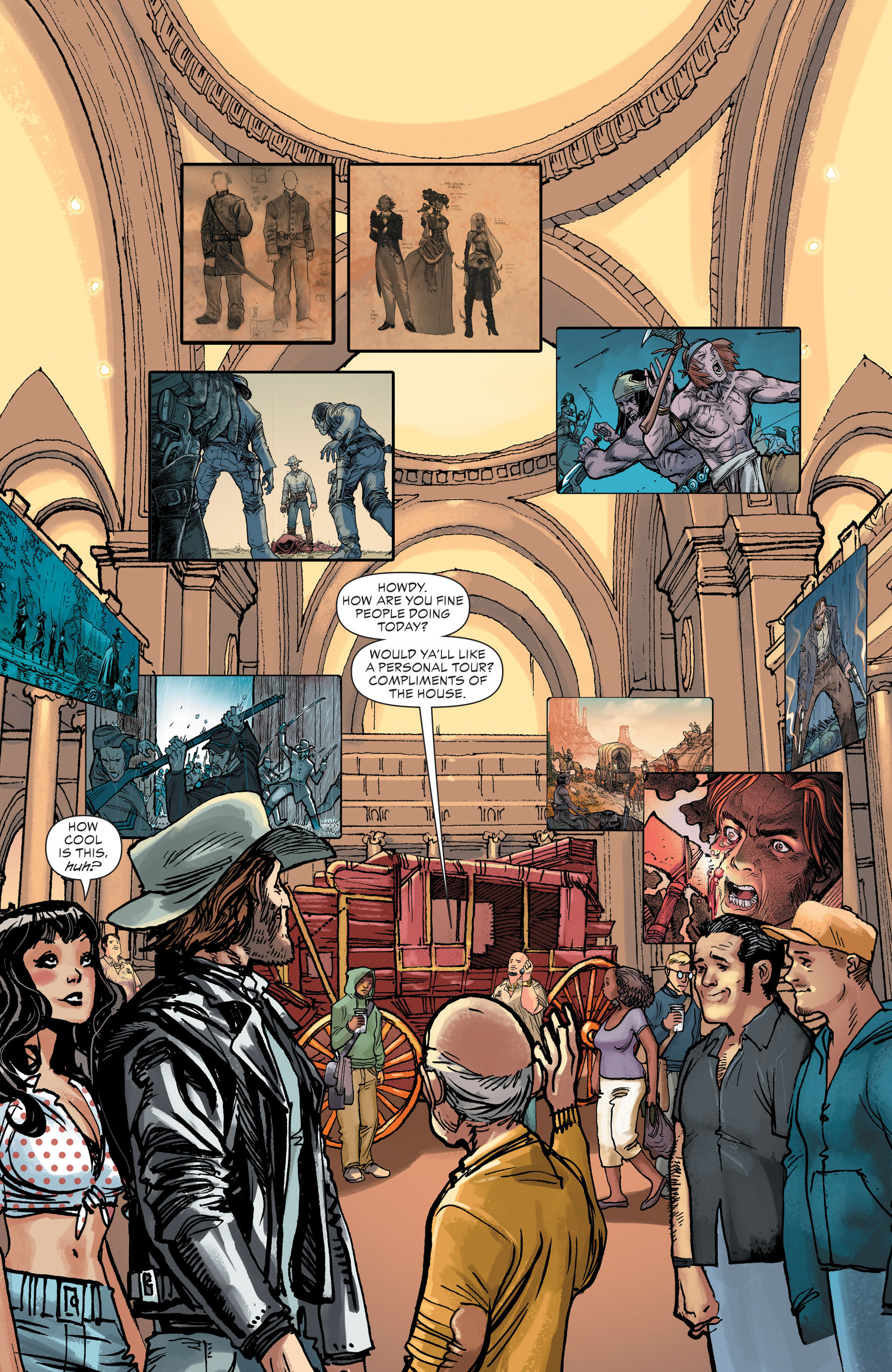 Read online All-Star Western (2011) comic -  Issue #27 - 12