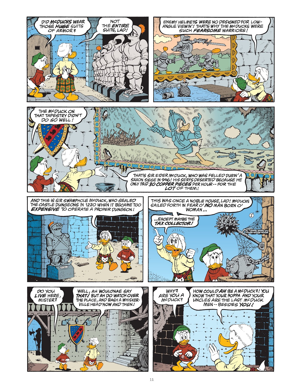 Read online The Complete Life and Times of Scrooge McDuck comic -  Issue # TPB 1 (Part 1) - 19