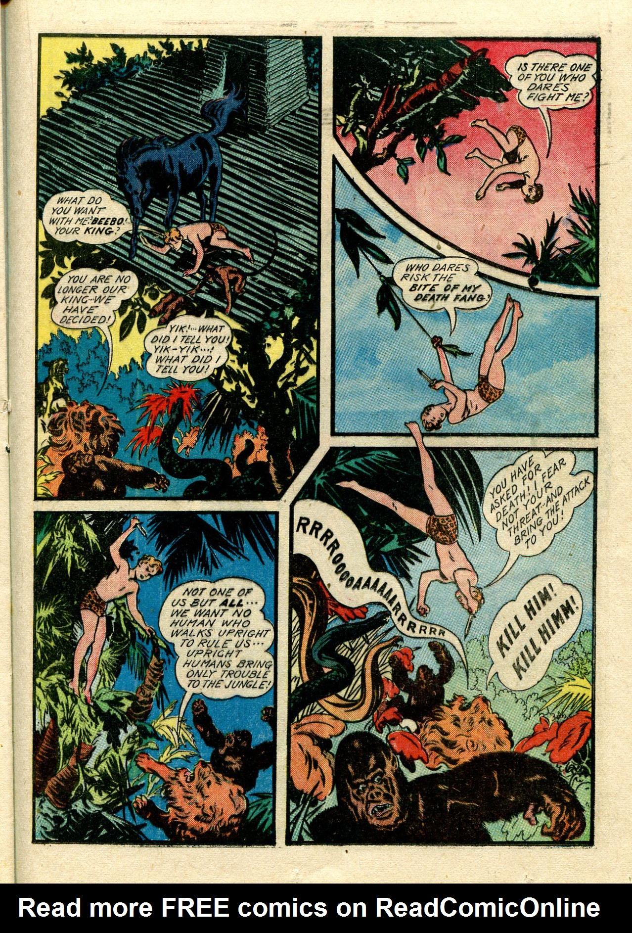 Read online Shadow Comics comic -  Issue #33 - 39