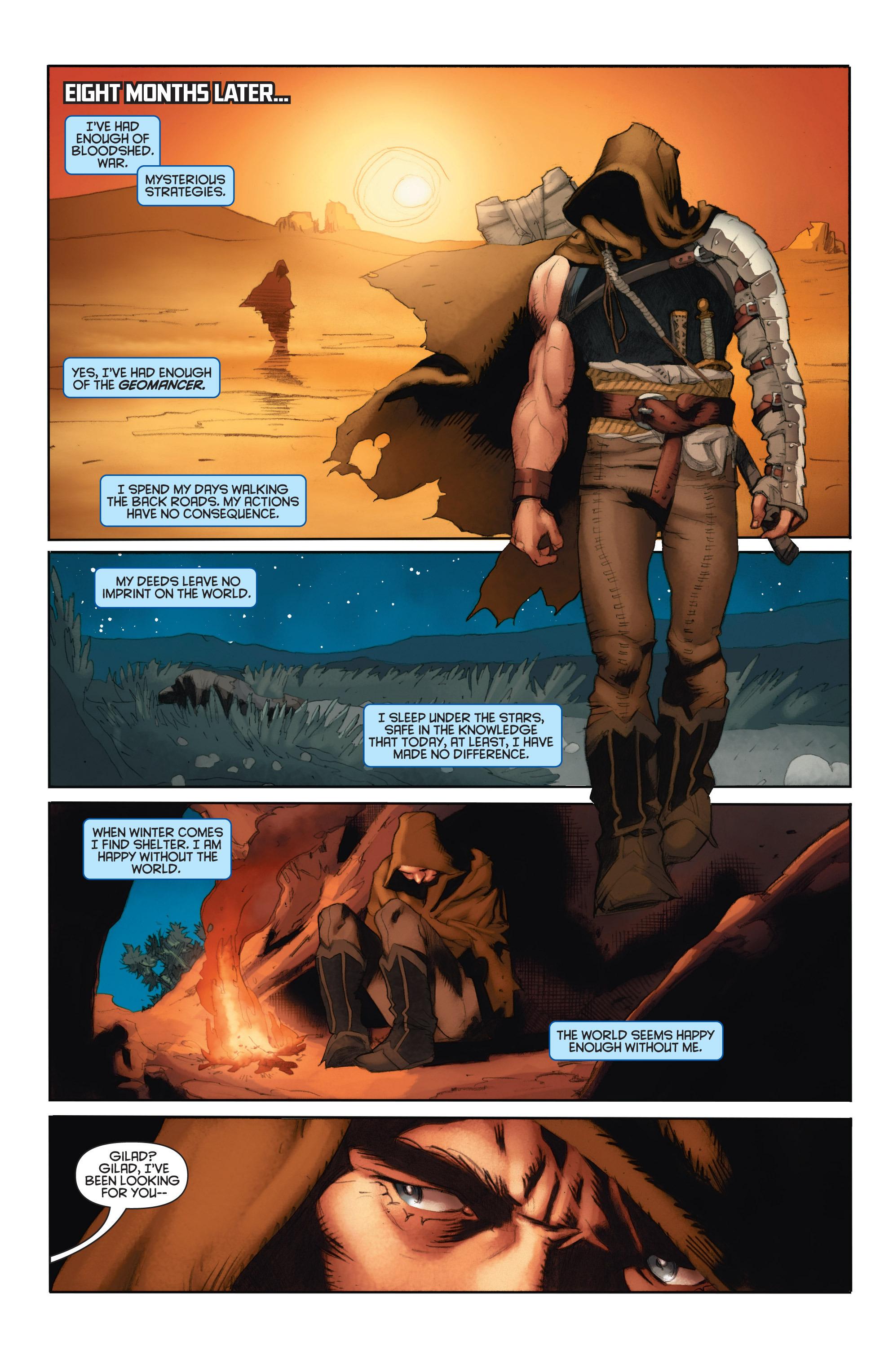 Read online Eternal Warrior: Days of Steel comic -  Issue #1 - 9