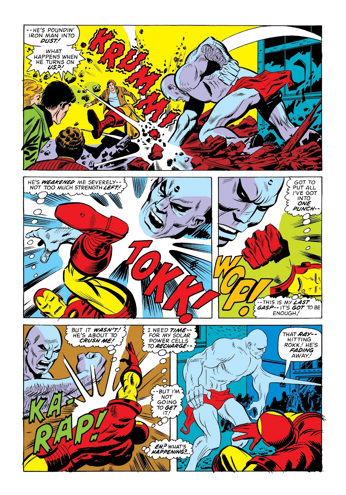 Read online Marvel Masterworks: The Invincible Iron Man comic -  Issue # TPB 9 (Part 3) - 31