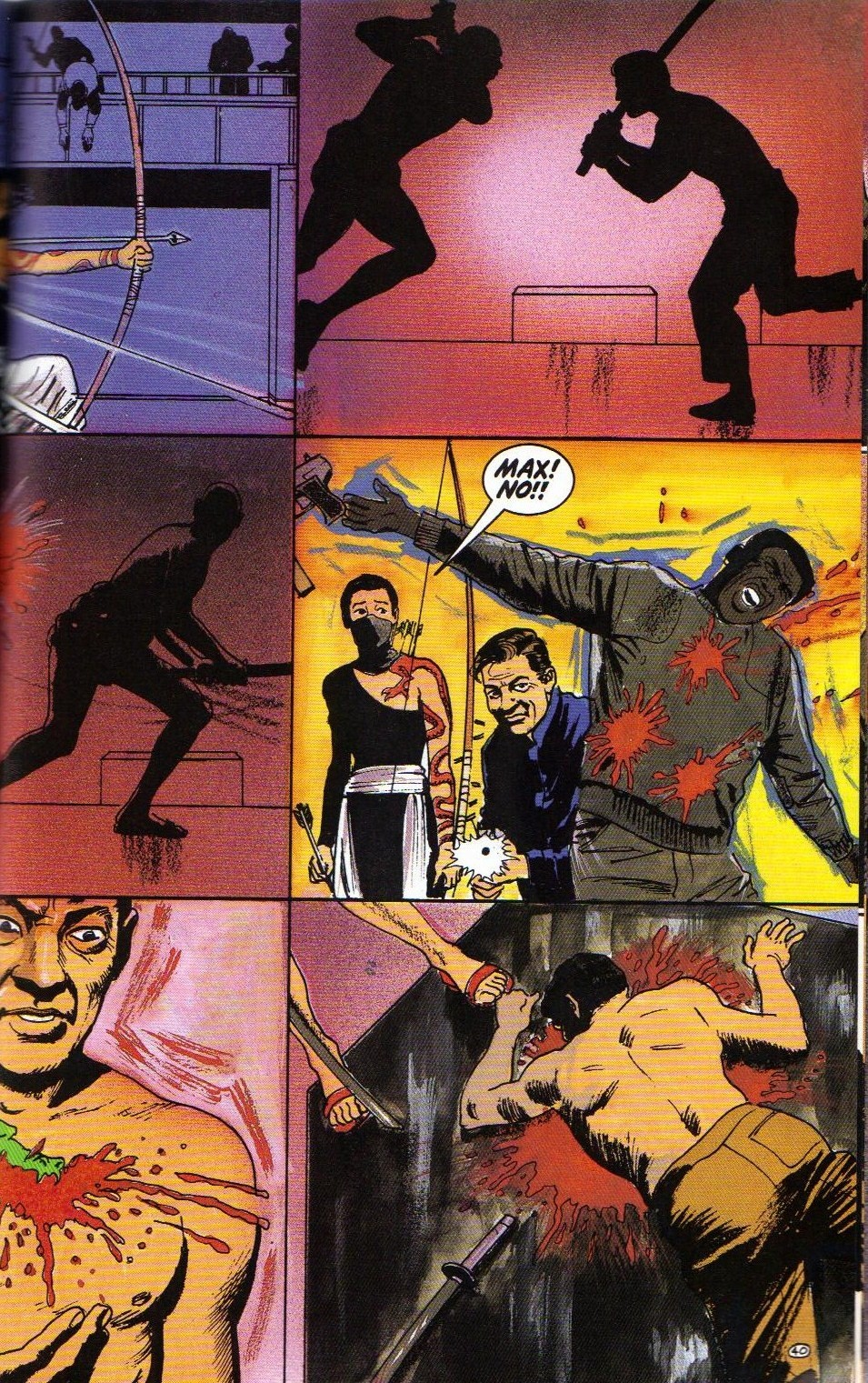 Read online Shado: Song of the Dragon comic -  Issue #4 - 43