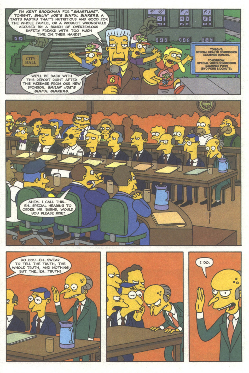 Read online Simpsons Comics comic -  Issue #38 - 15