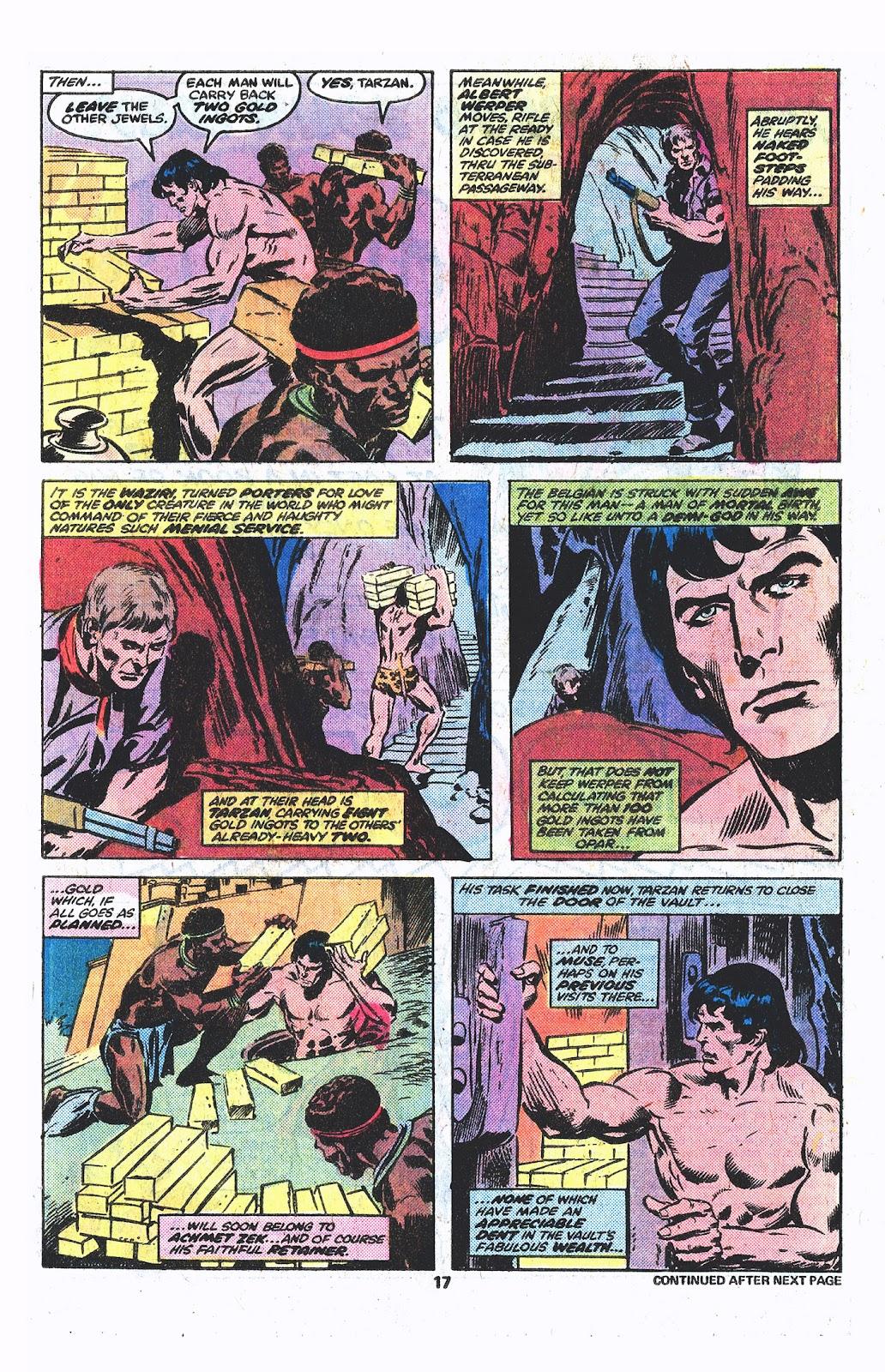 Tarzan (1977) issue 3 - Page 11