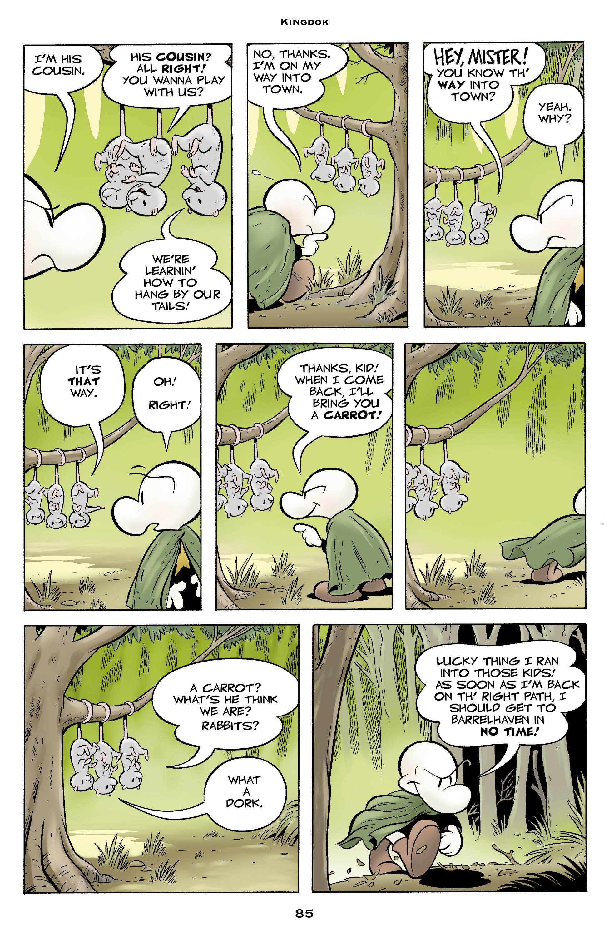 Read online Bone: Out From Boneville comic -  Issue # TPB - 85