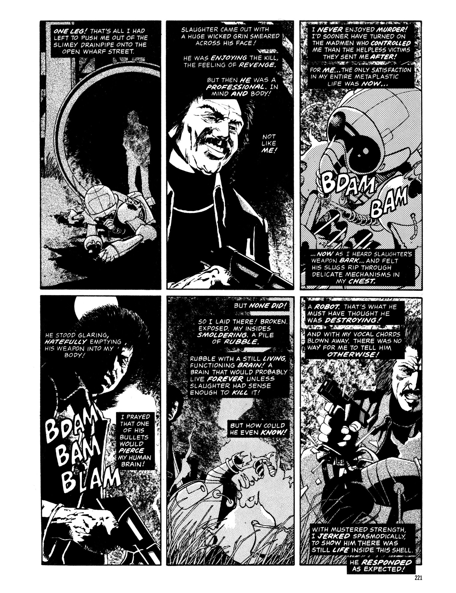 Read online Eerie Archives comic -  Issue # TPB 13 - 222
