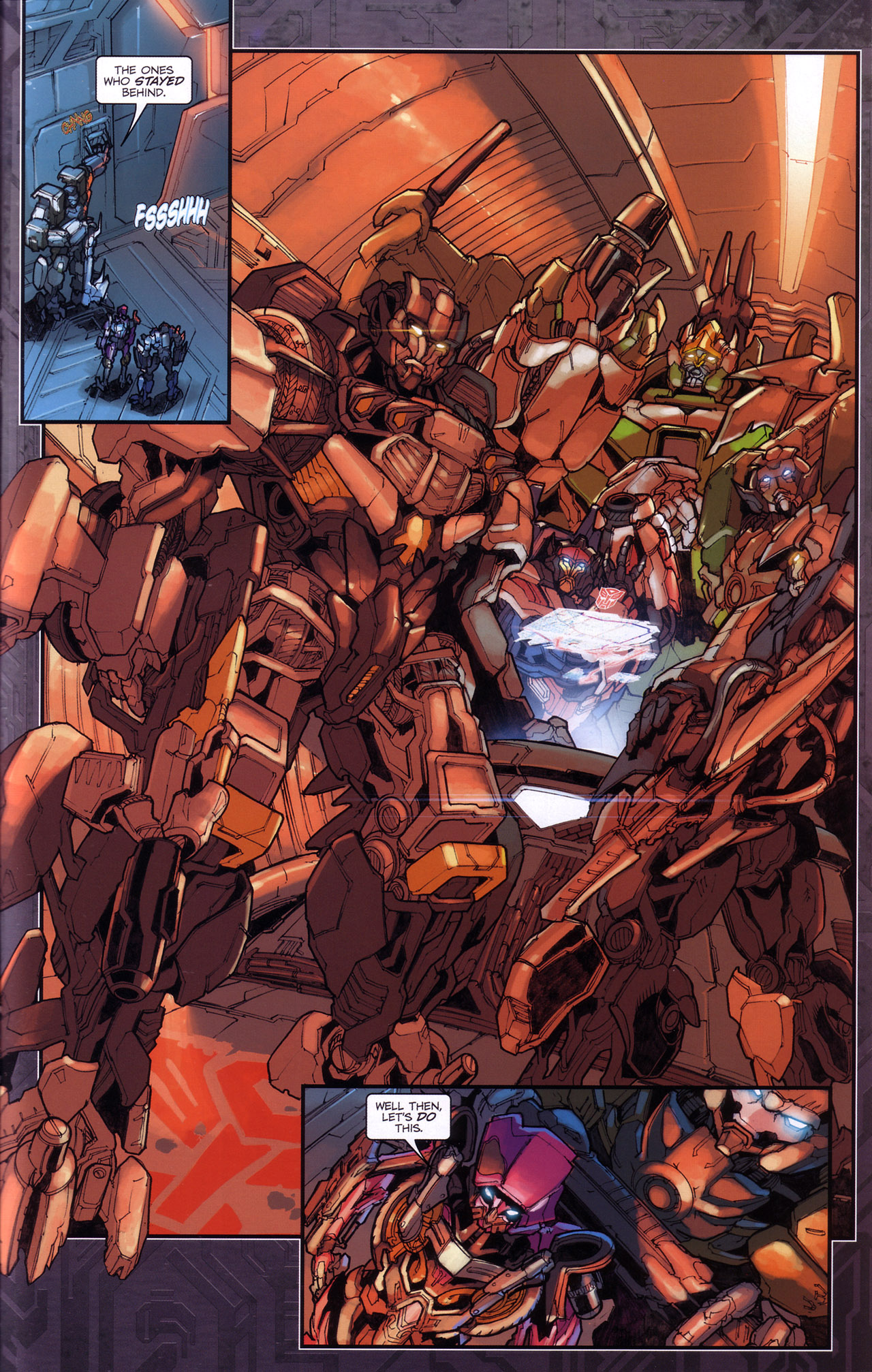 Read online Transformers: The Reign of Starscream comic -  Issue #4 - 21