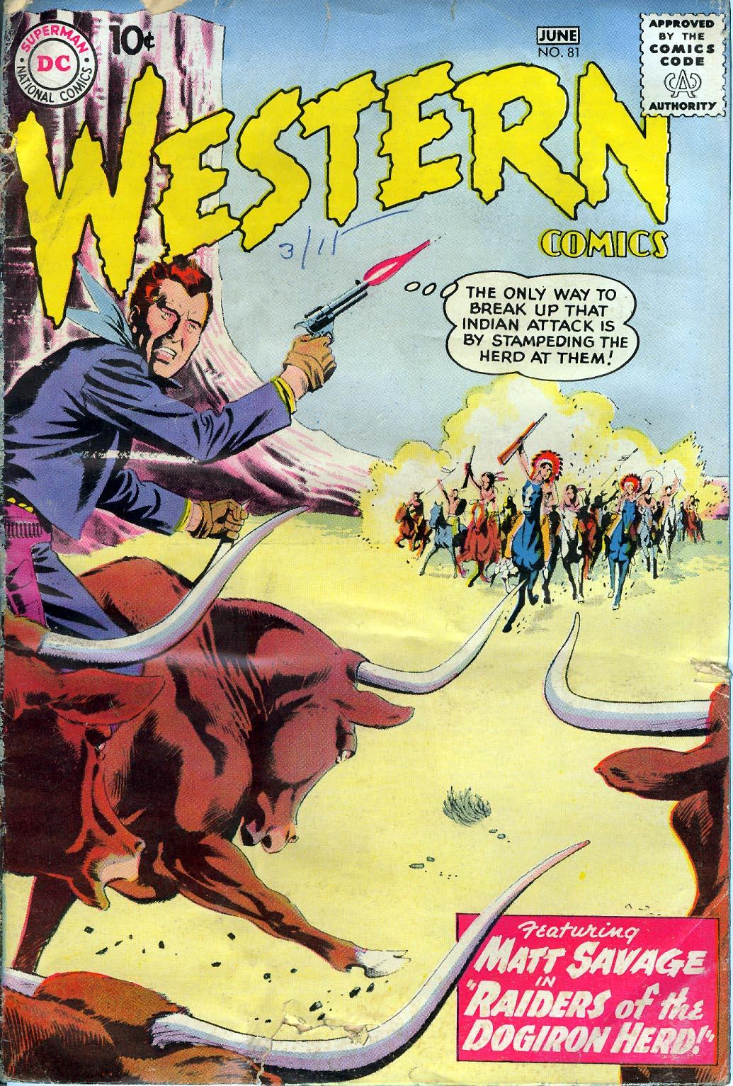 Western Comics 81 Page 1