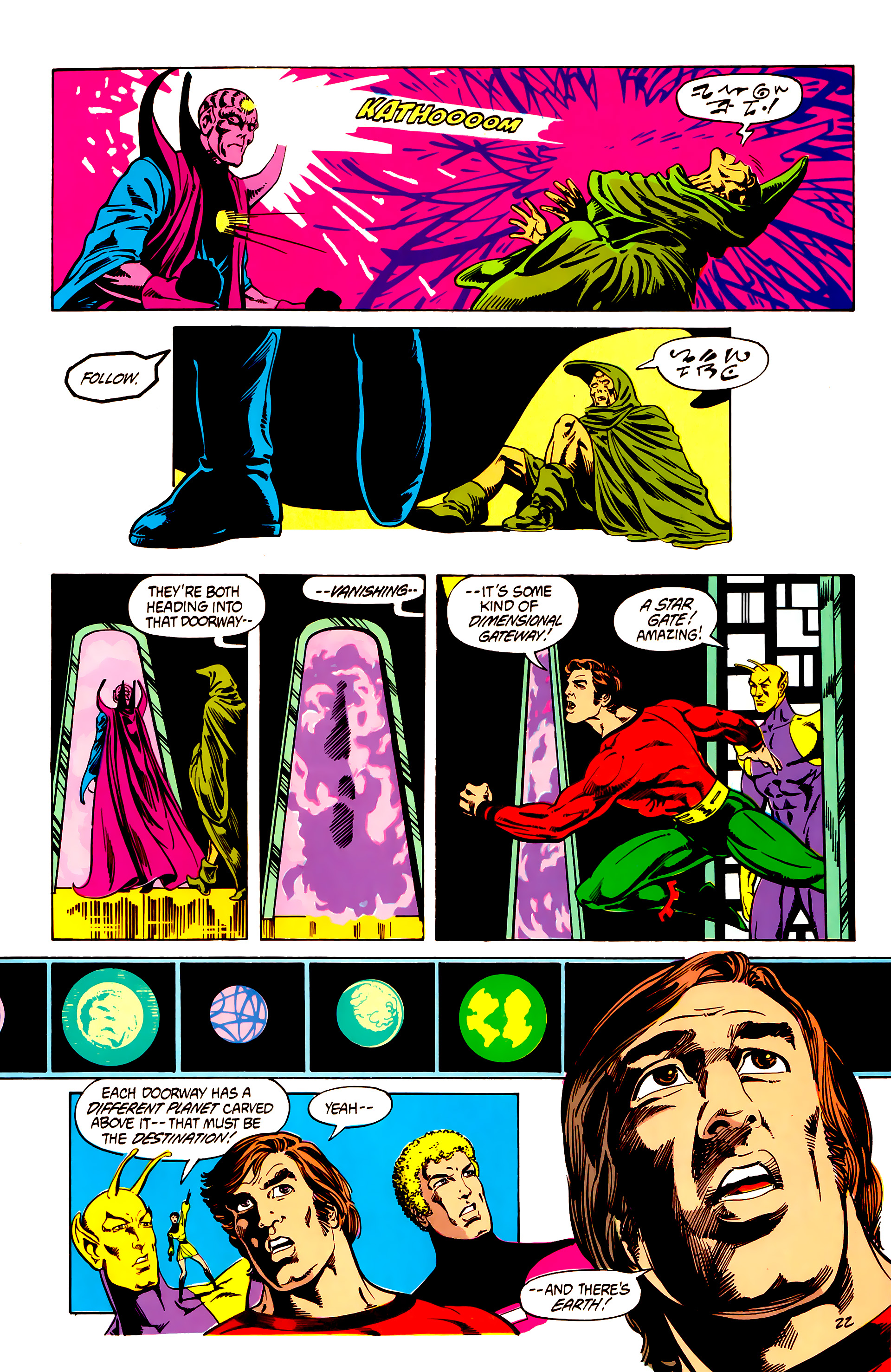Legion of Super-Heroes (1984) 7 Page 23