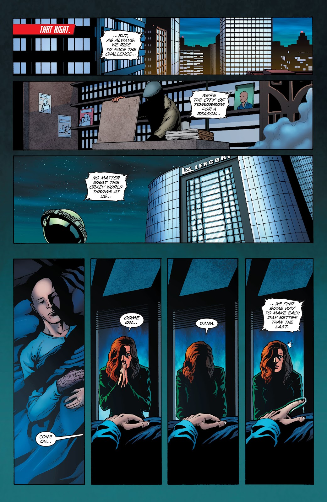 Read online Smallville Season 11 [II] comic -  Issue # TPB 1 - 131