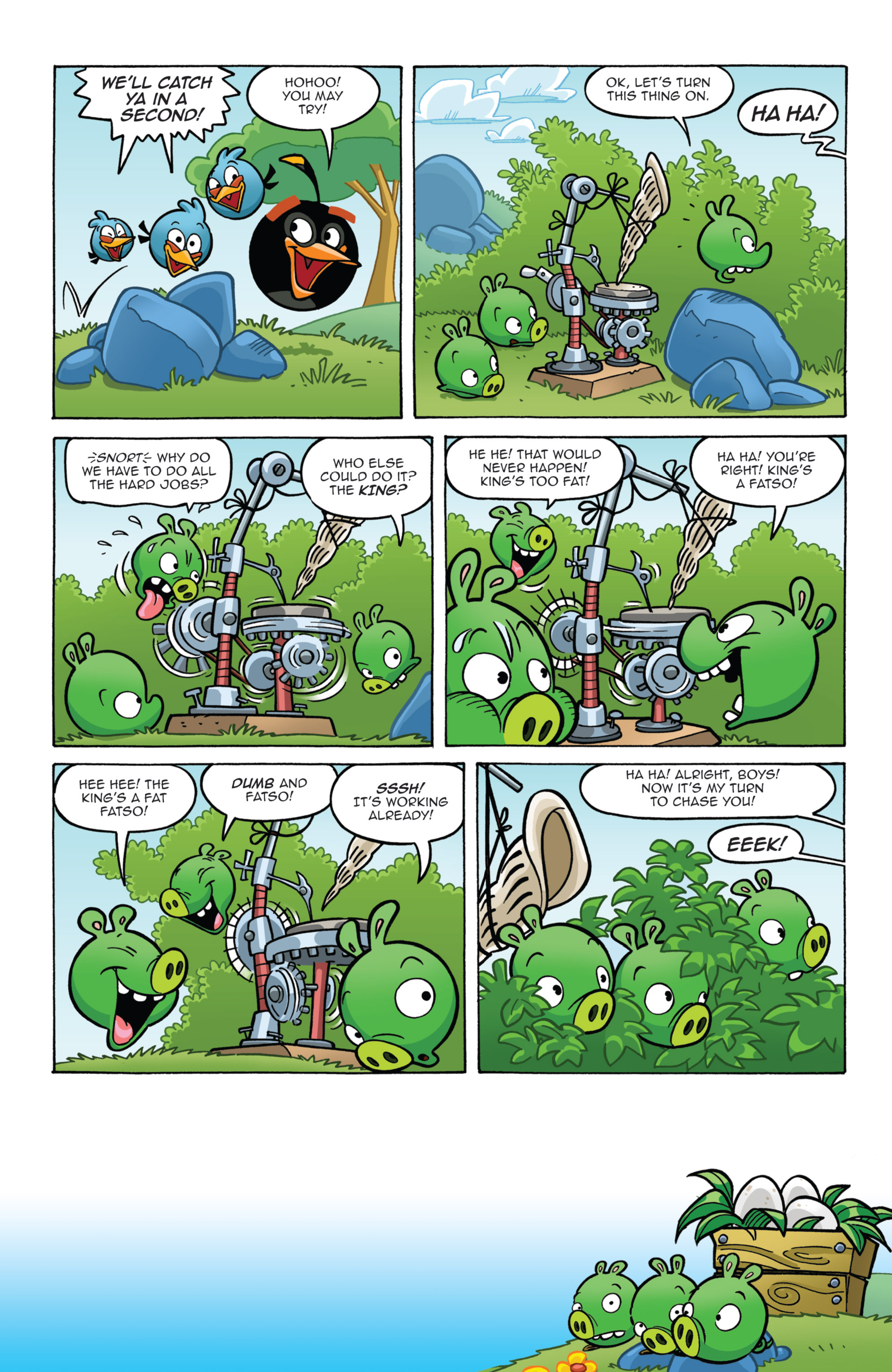 Read online Angry Birds Comics (2014) comic -  Issue #7 - 7