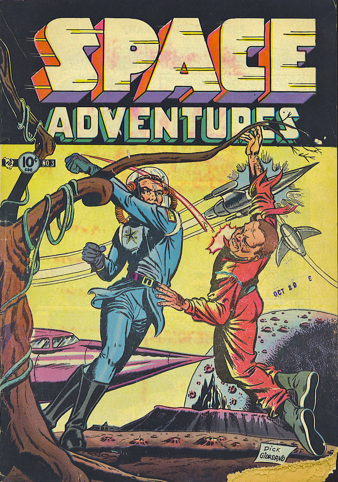 Space Adventures (1952) issue 3 - Page 1
