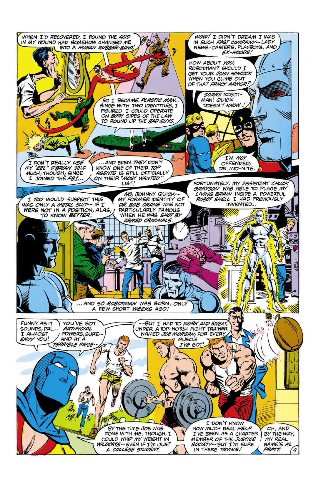 Read online All-Star Squadron comic -  Issue #2 - 10