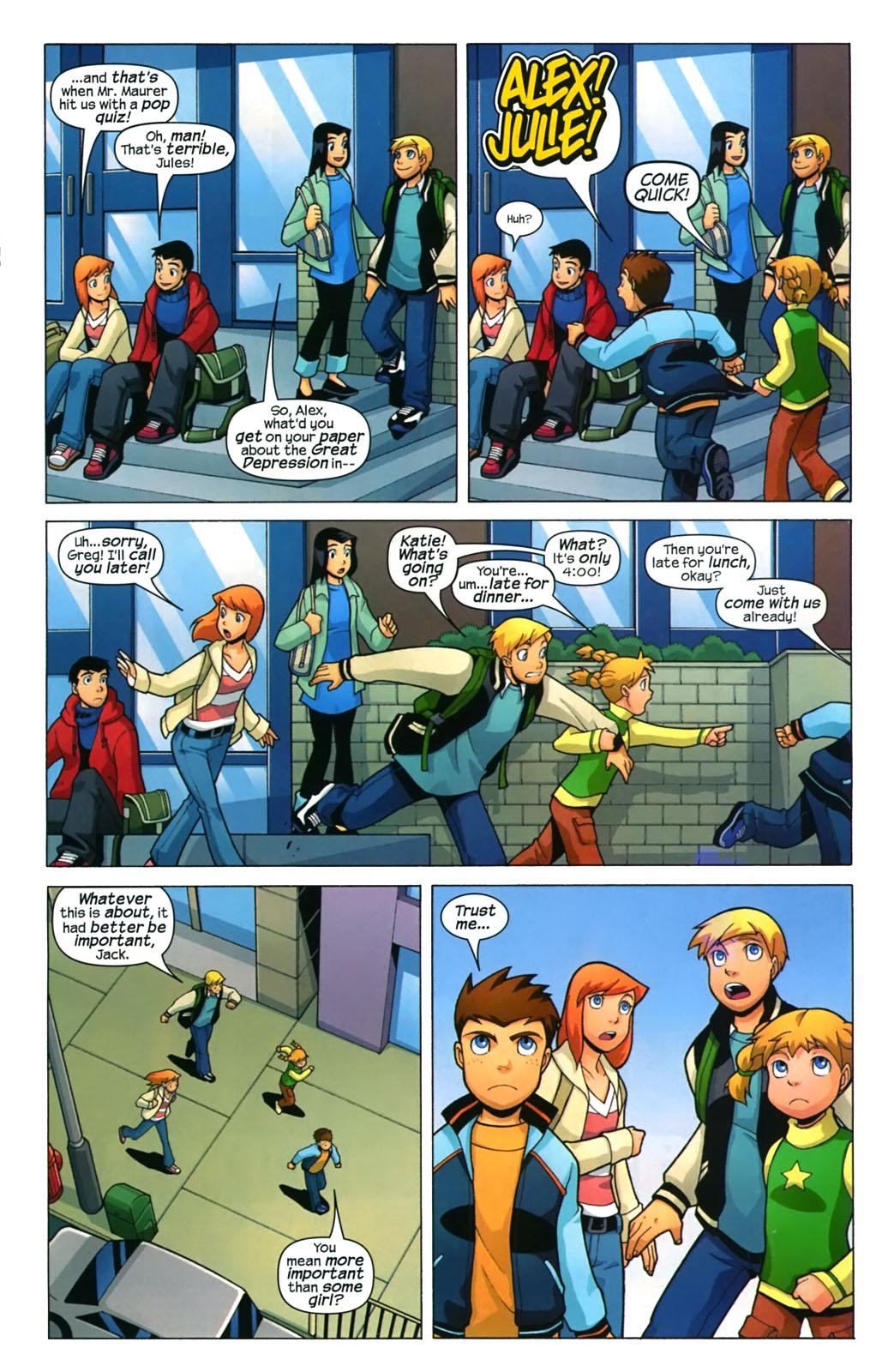 Read online X-Men and Power Pack comic -  Issue #4 - 2