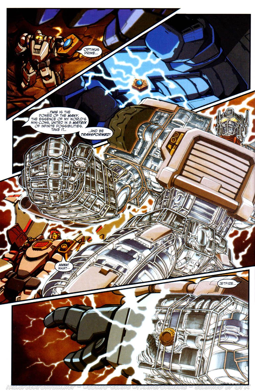 Read online Transformers Armada comic -  Issue #17 - 20