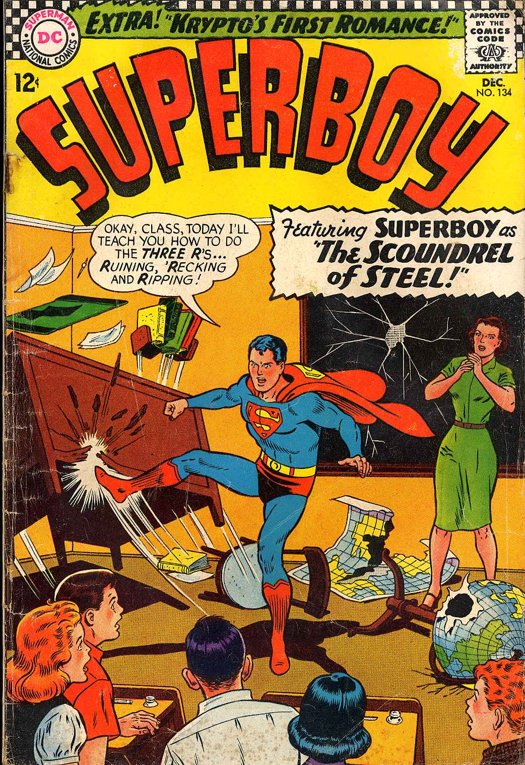 Superboy (1949) issue 134 - Page 1