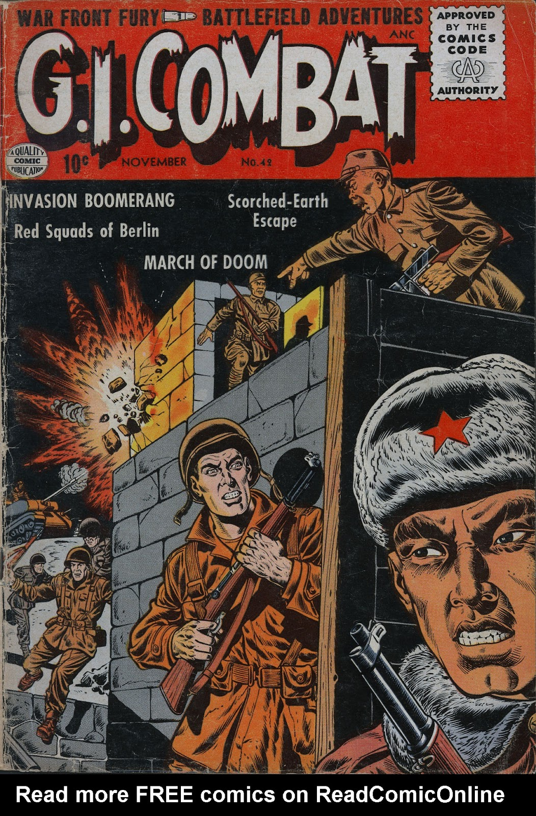 G.I. Combat (1952) issue 42 - Page 1