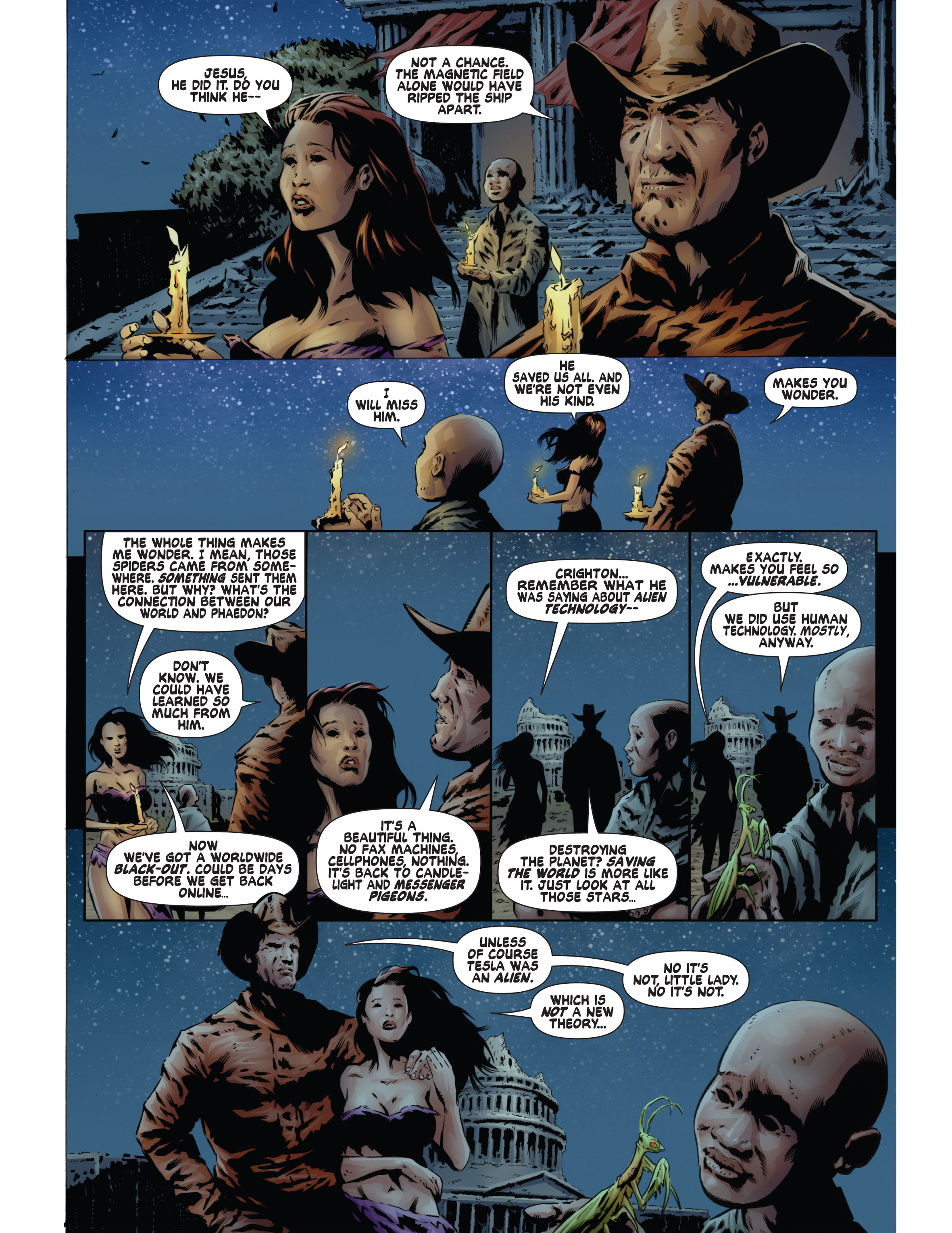 Read online Bad Planet comic -  Issue # TPB - 133