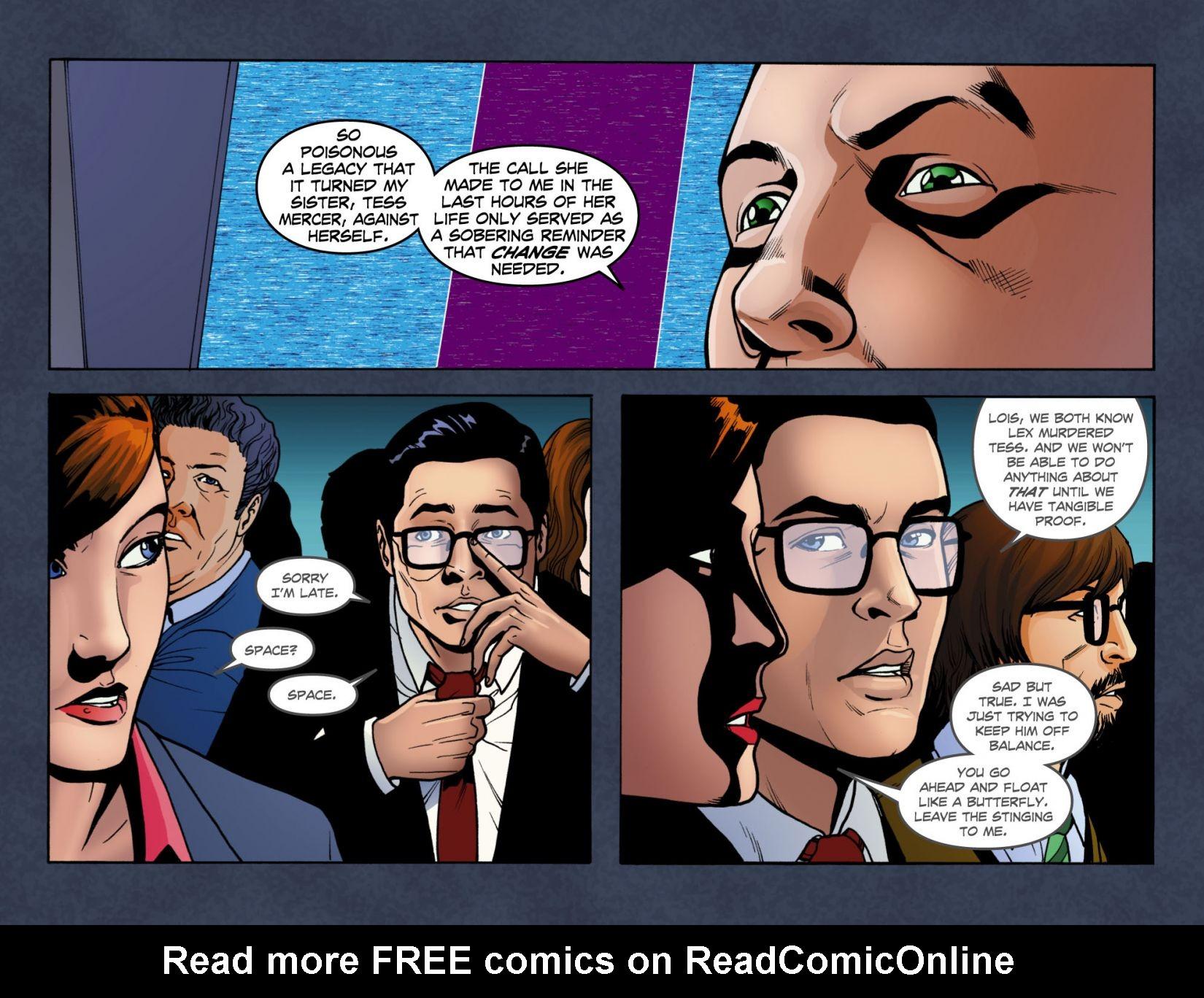 Read online Smallville: Season 11 comic -  Issue #4 - 18
