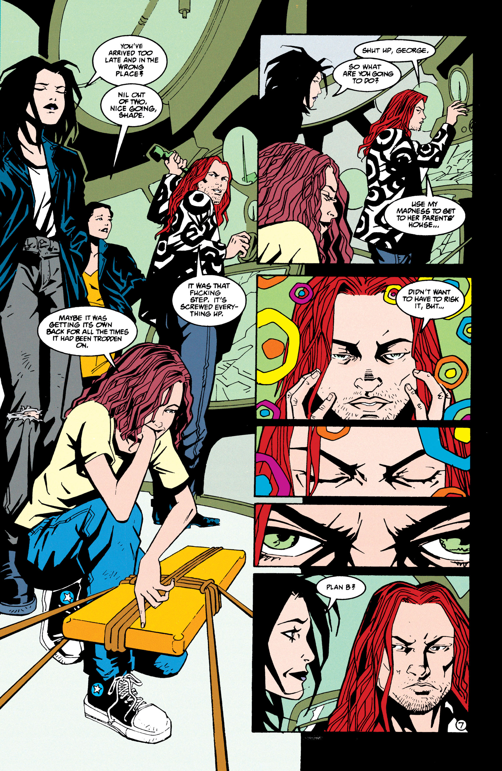 Read online Shade, the Changing Man comic -  Issue #69 - 8