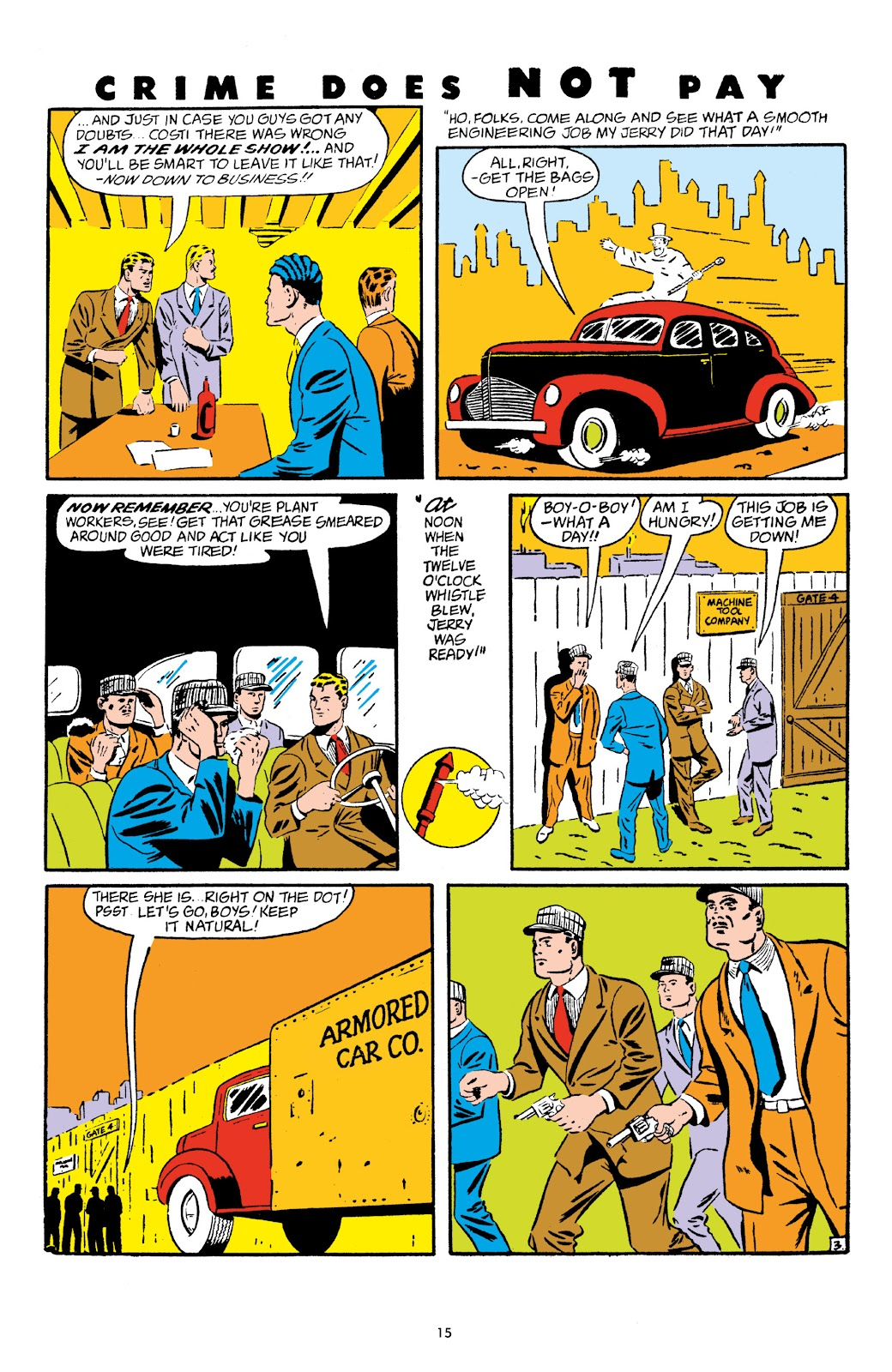 Read online Crime Does Not Pay Archives comic -  Issue # TPB 5 (Part 1) - 15
