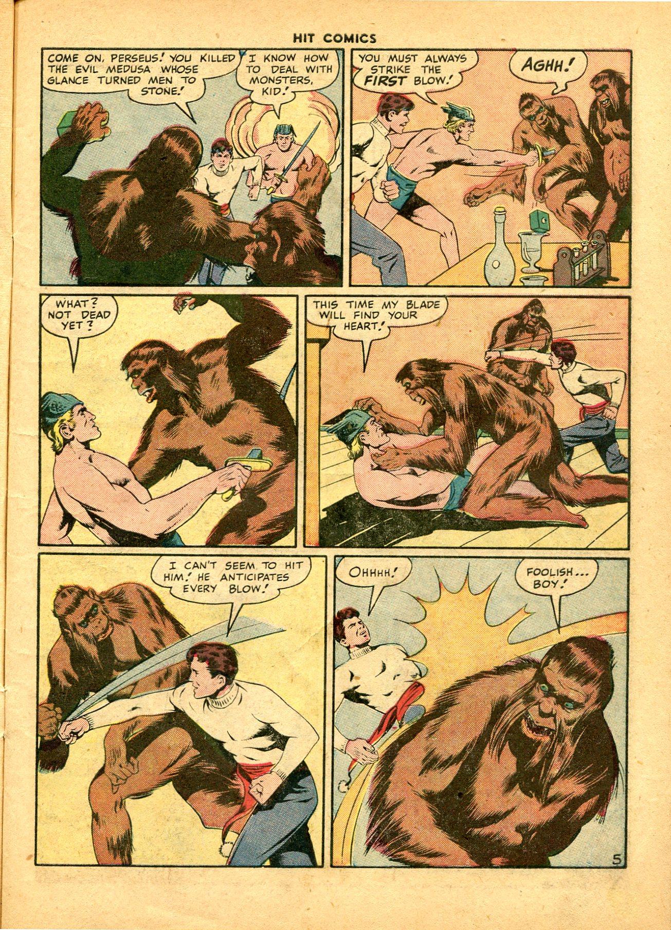 Read online Hit Comics comic -  Issue #49 - 7