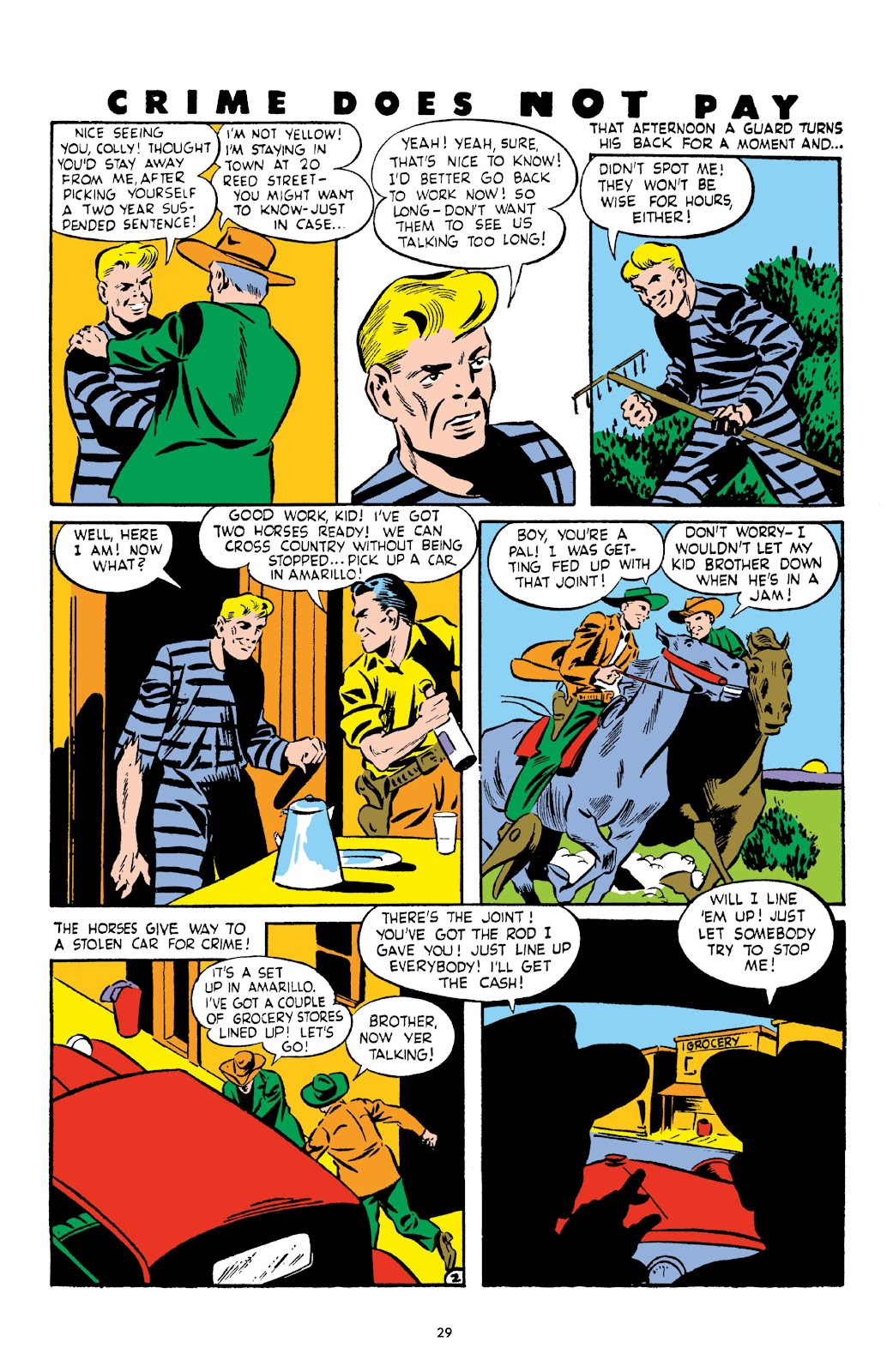 Read online Crime Does Not Pay Archives comic -  Issue # TPB 3 (Part 1) - 29
