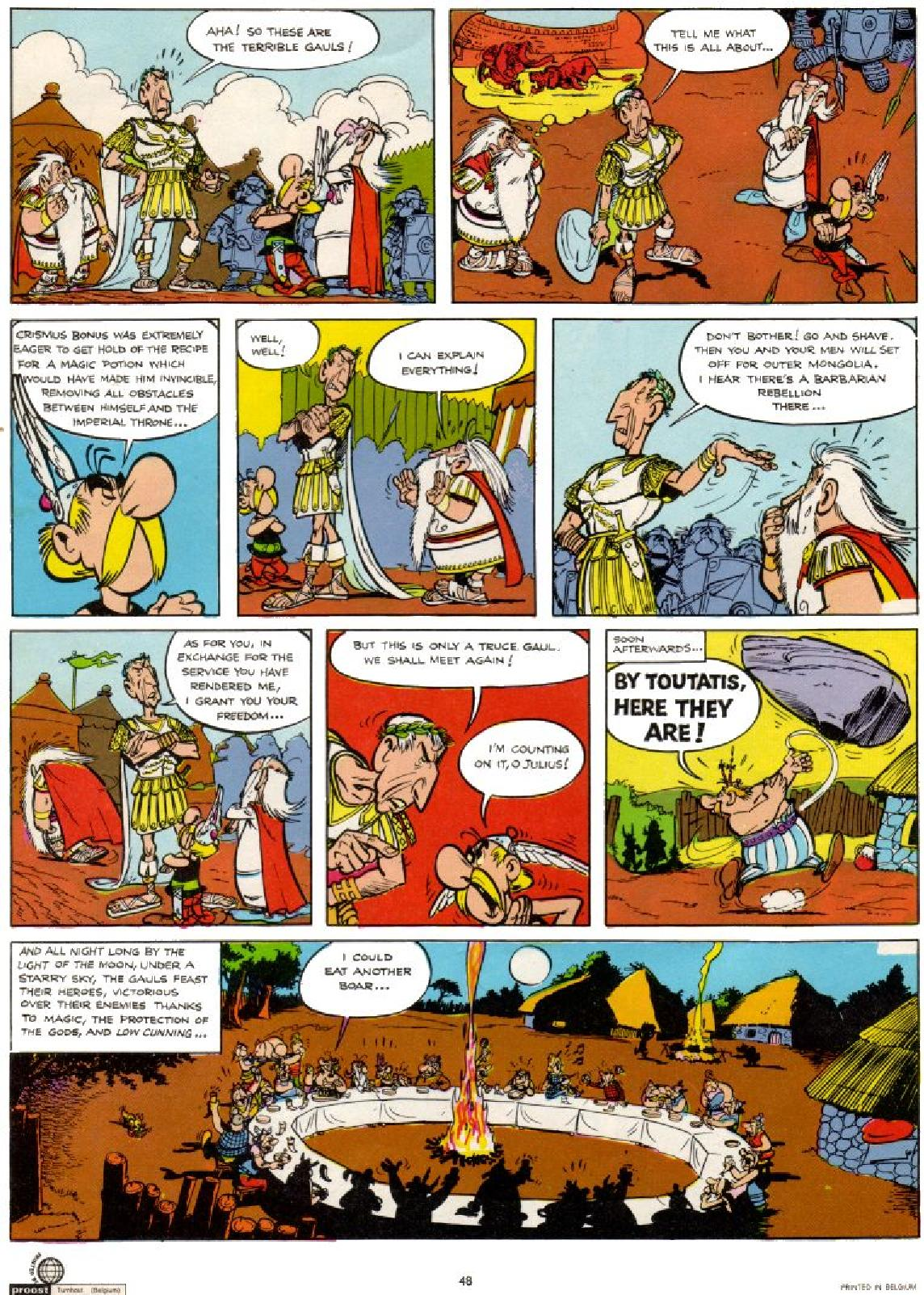 Read online Asterix comic -  Issue #1 - 48
