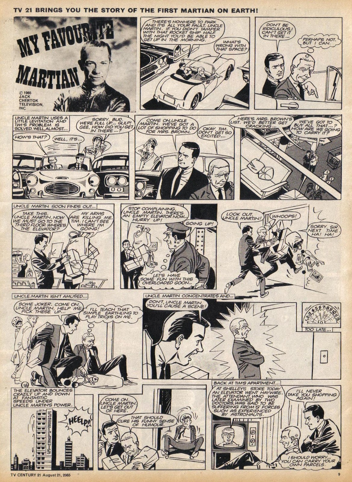 TV Century 21 (TV 21) issue 31 - Page 9