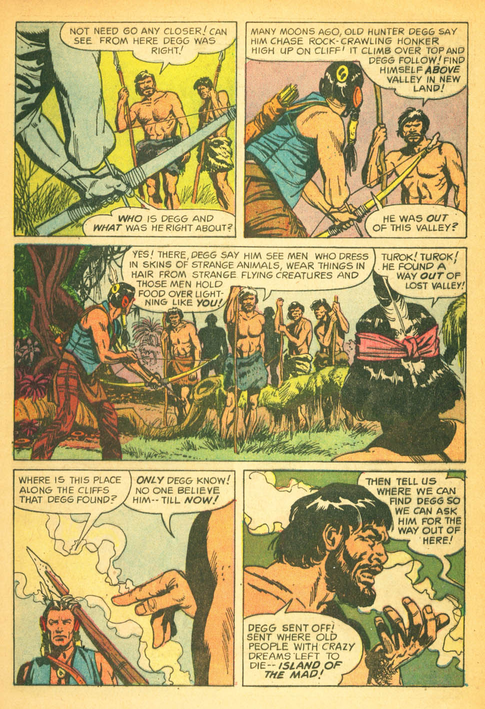 Read online Turok, Son of Stone comic -  Issue #27 - 5