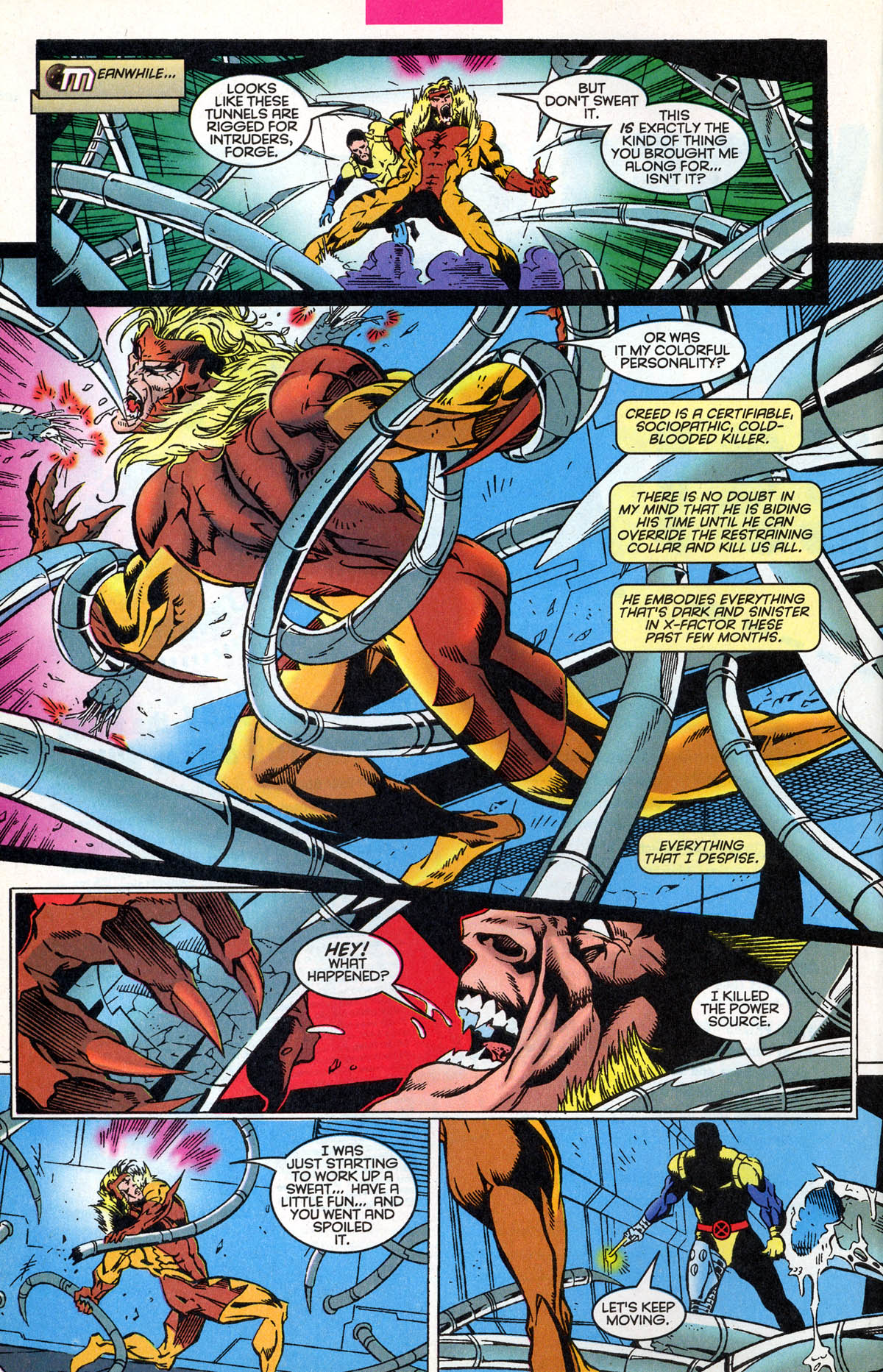 Read online X-Factor (1986) comic -  Issue #126 - 11