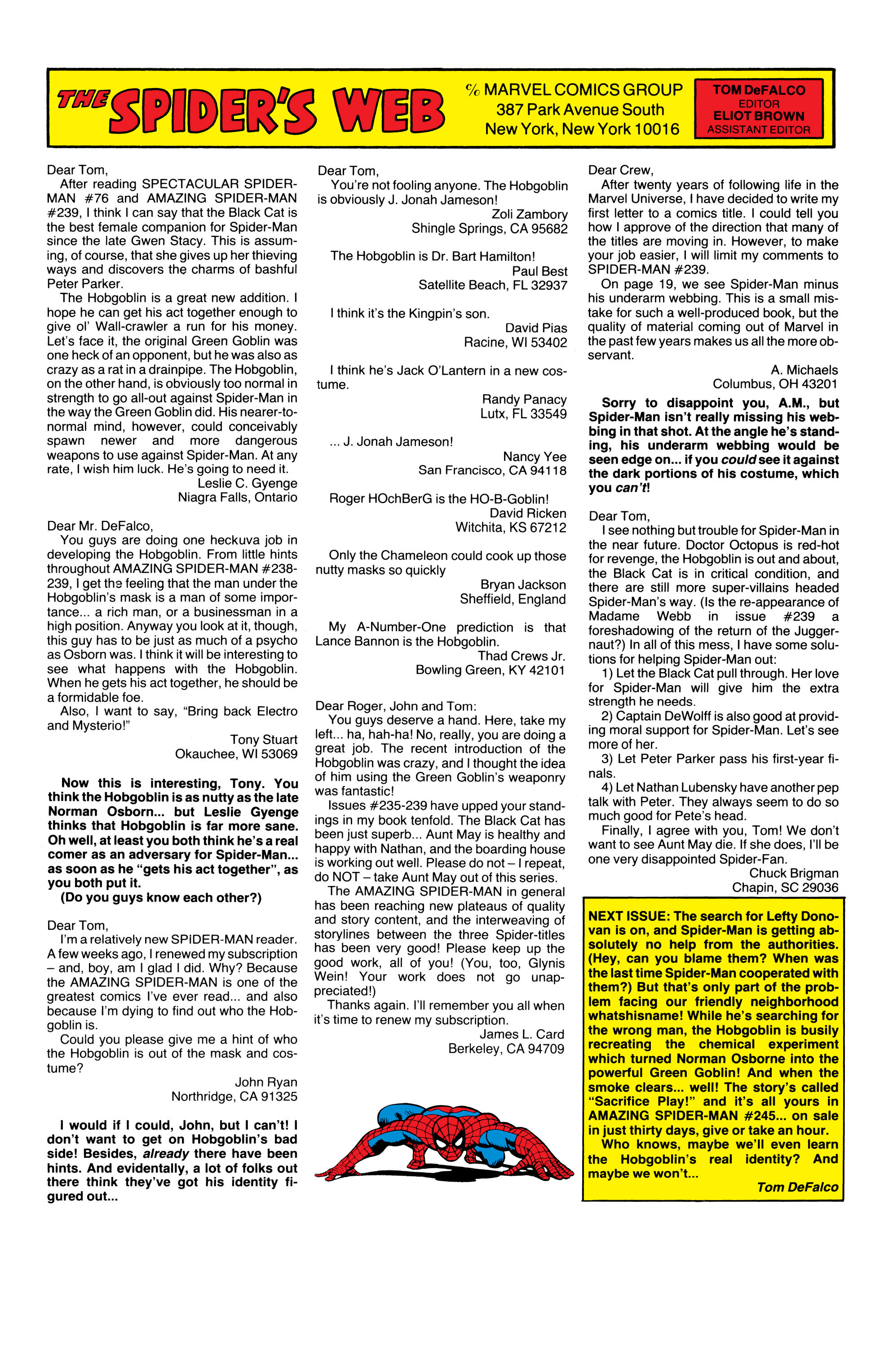 The Amazing Spider-Man (1963) 244 Page 23