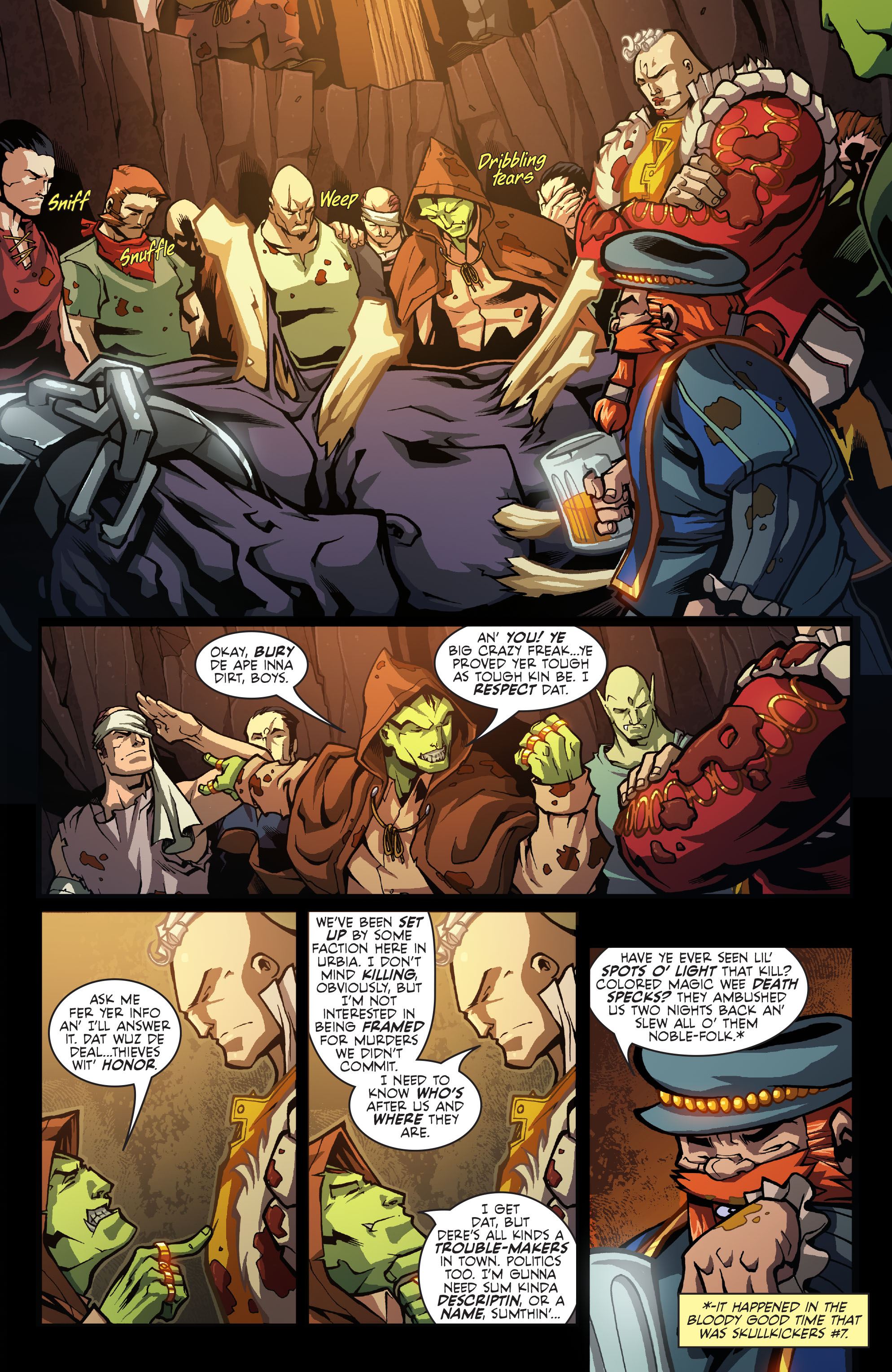 Read online Skullkickers comic -  Issue #9 - 5