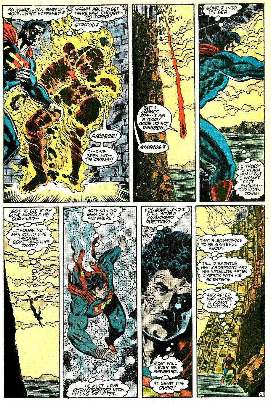 Read online Adventures of Superman (1987) comic -  Issue #431 - 21