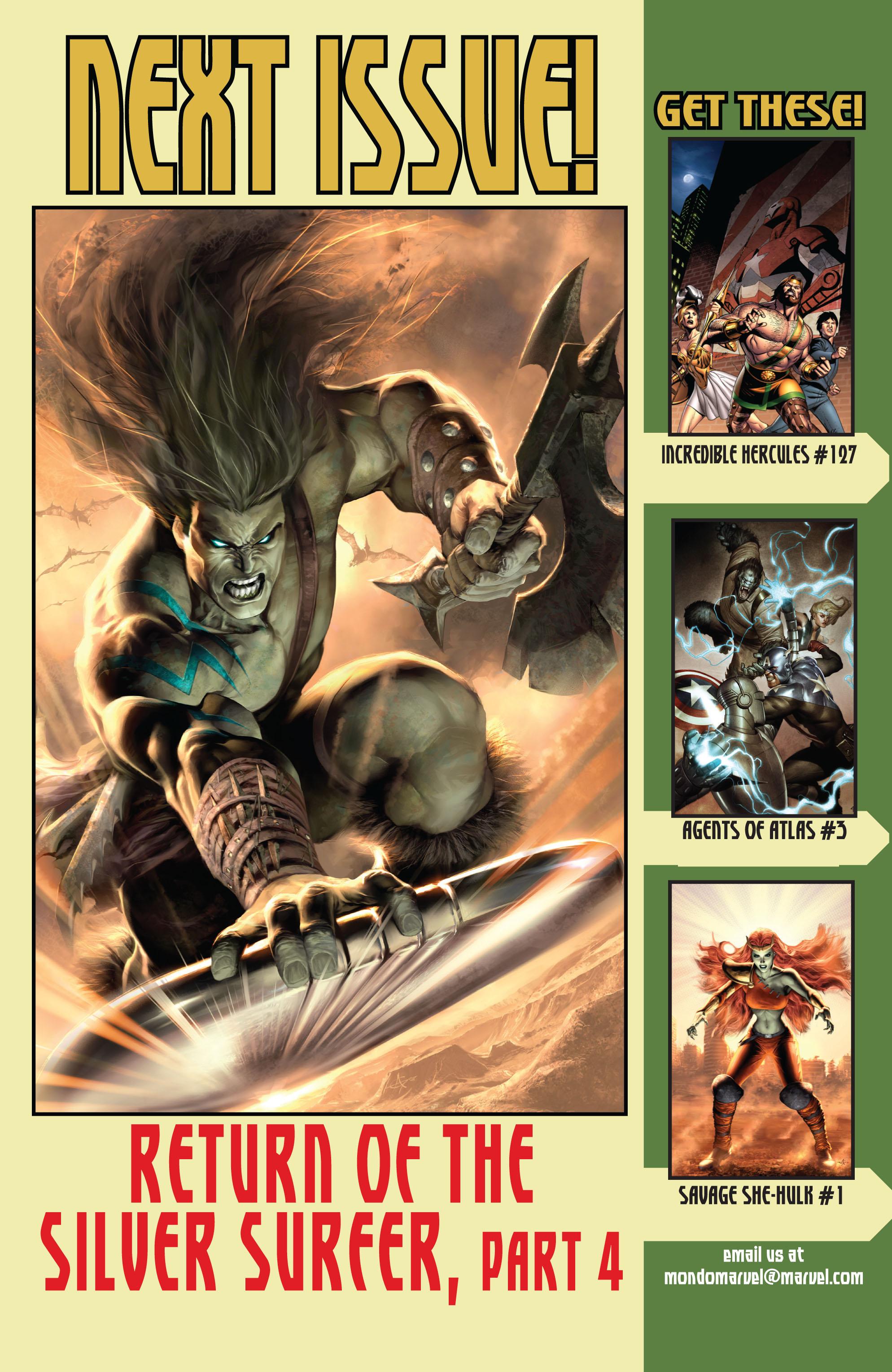 Read online Skaar: Son of Hulk comic -  Issue #9 - 25