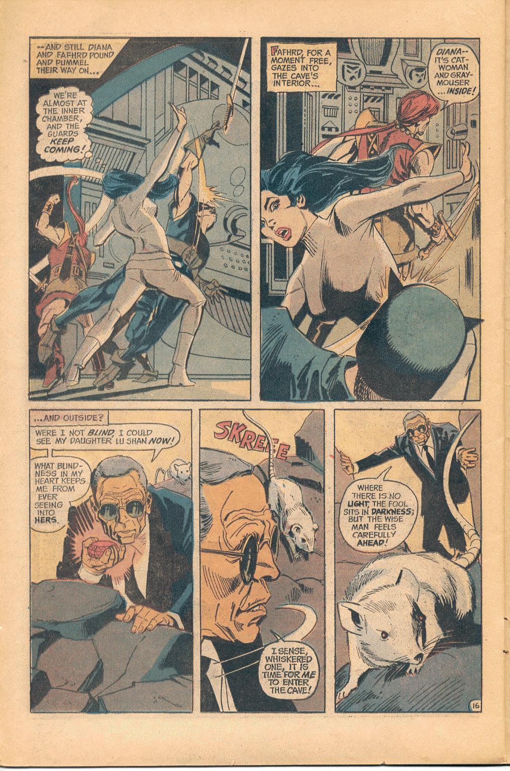 Read online Wonder Woman (1942) comic -  Issue #202 - 17