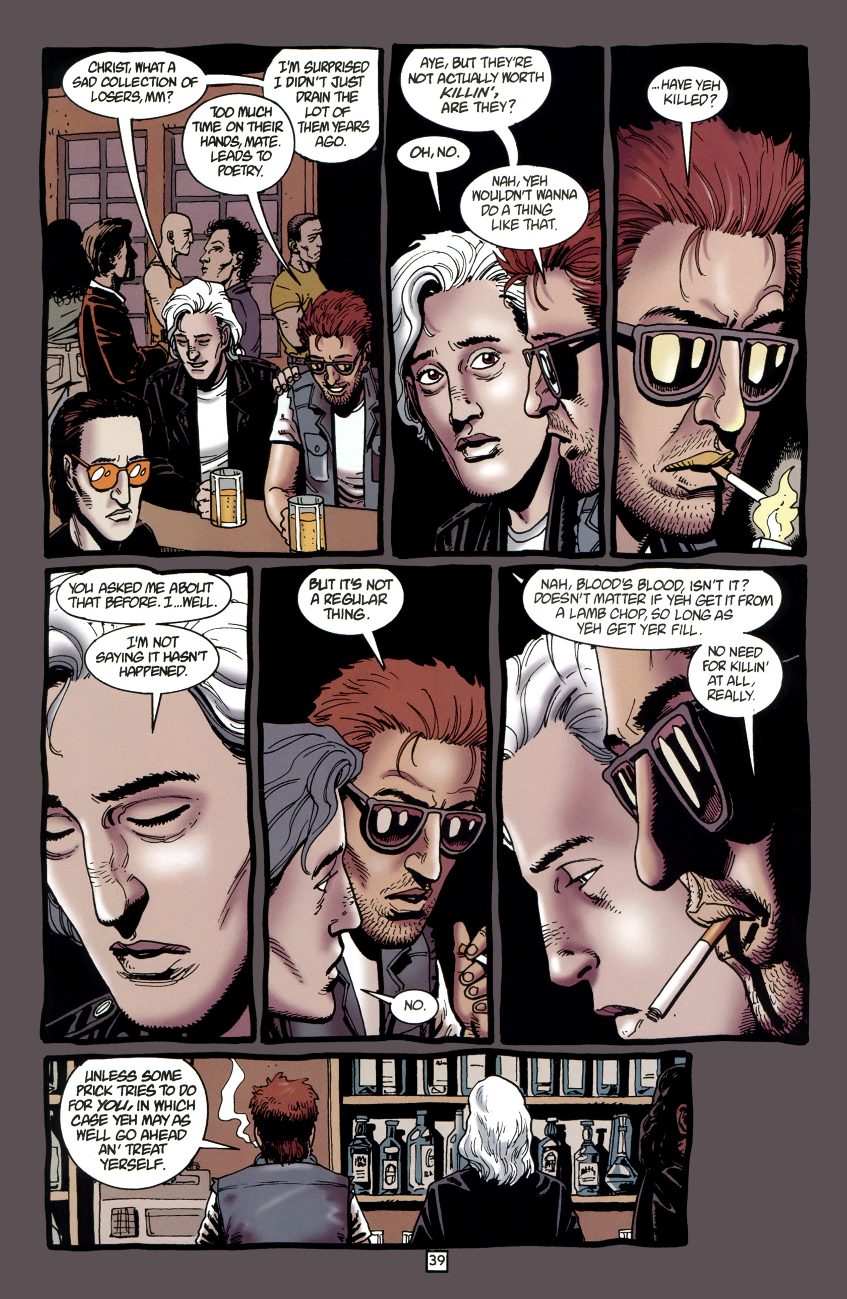Read online Preacher Special: Cassidy : Blood and Whiskey comic -  Issue # Full - 41