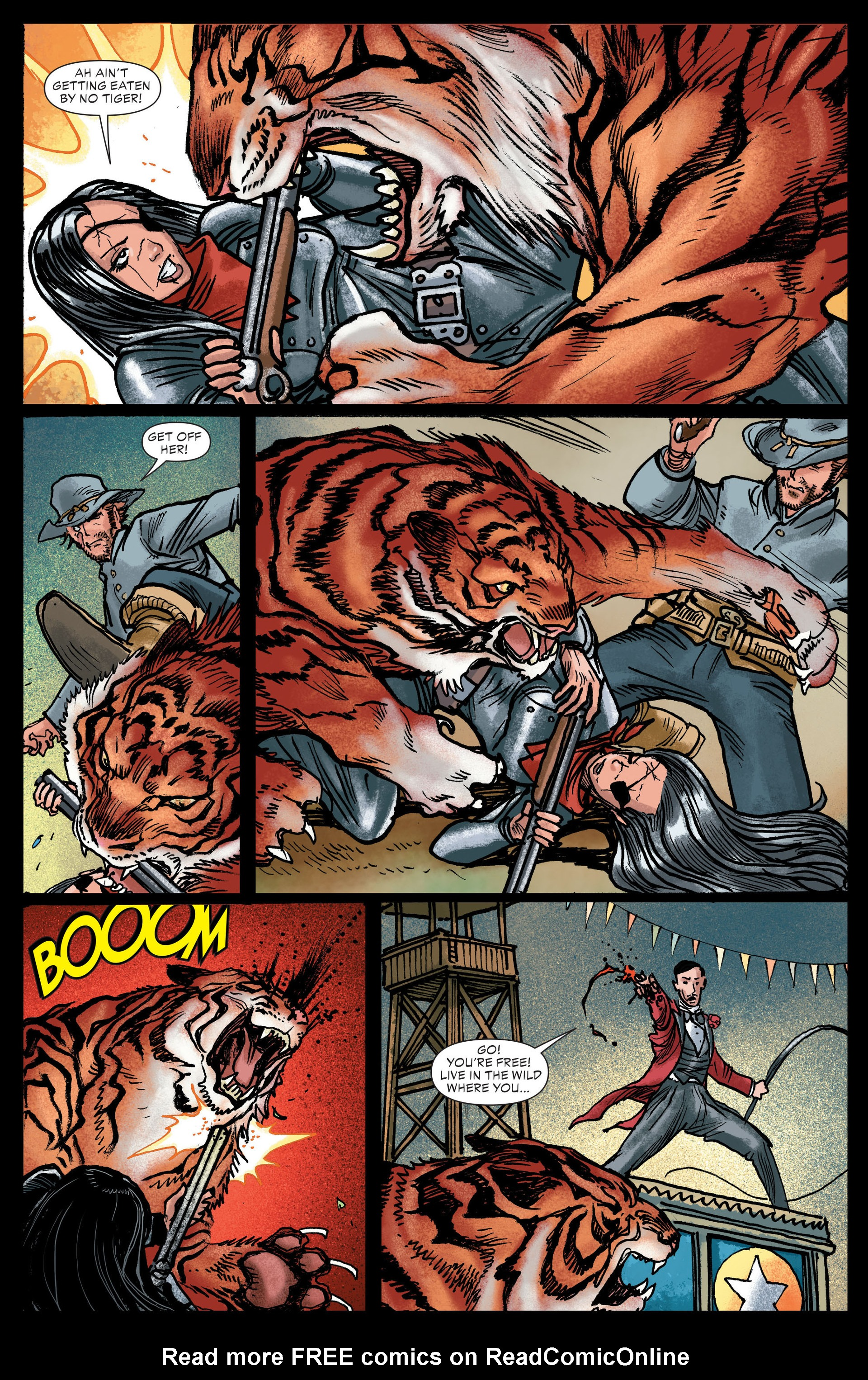 Read online All-Star Western (2011) comic -  Issue #13 - 17