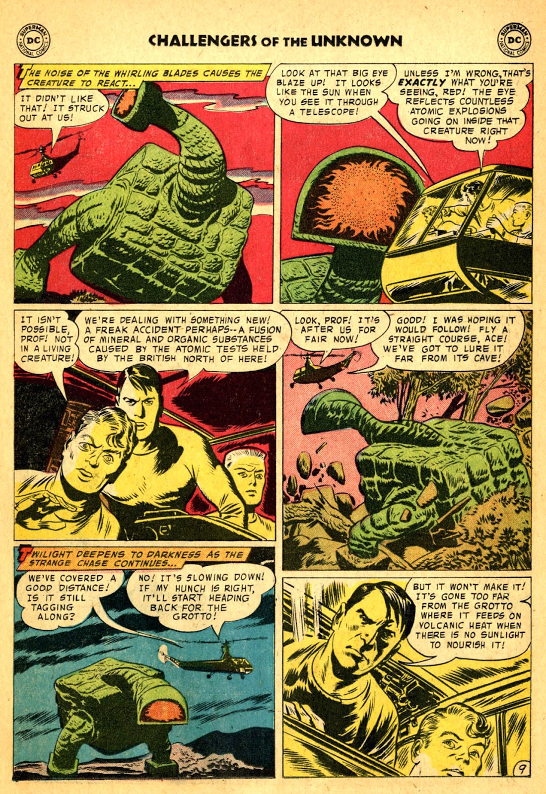 Challengers of the Unknown (1958) issue 2 - Page 11