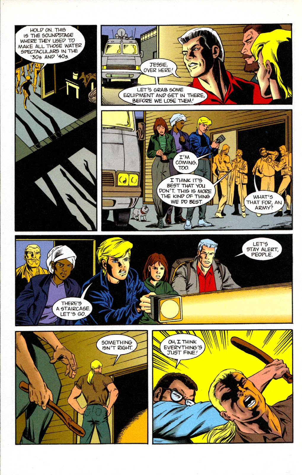 Read online The Real Adventures of Jonny Quest comic -  Issue #7 - 8