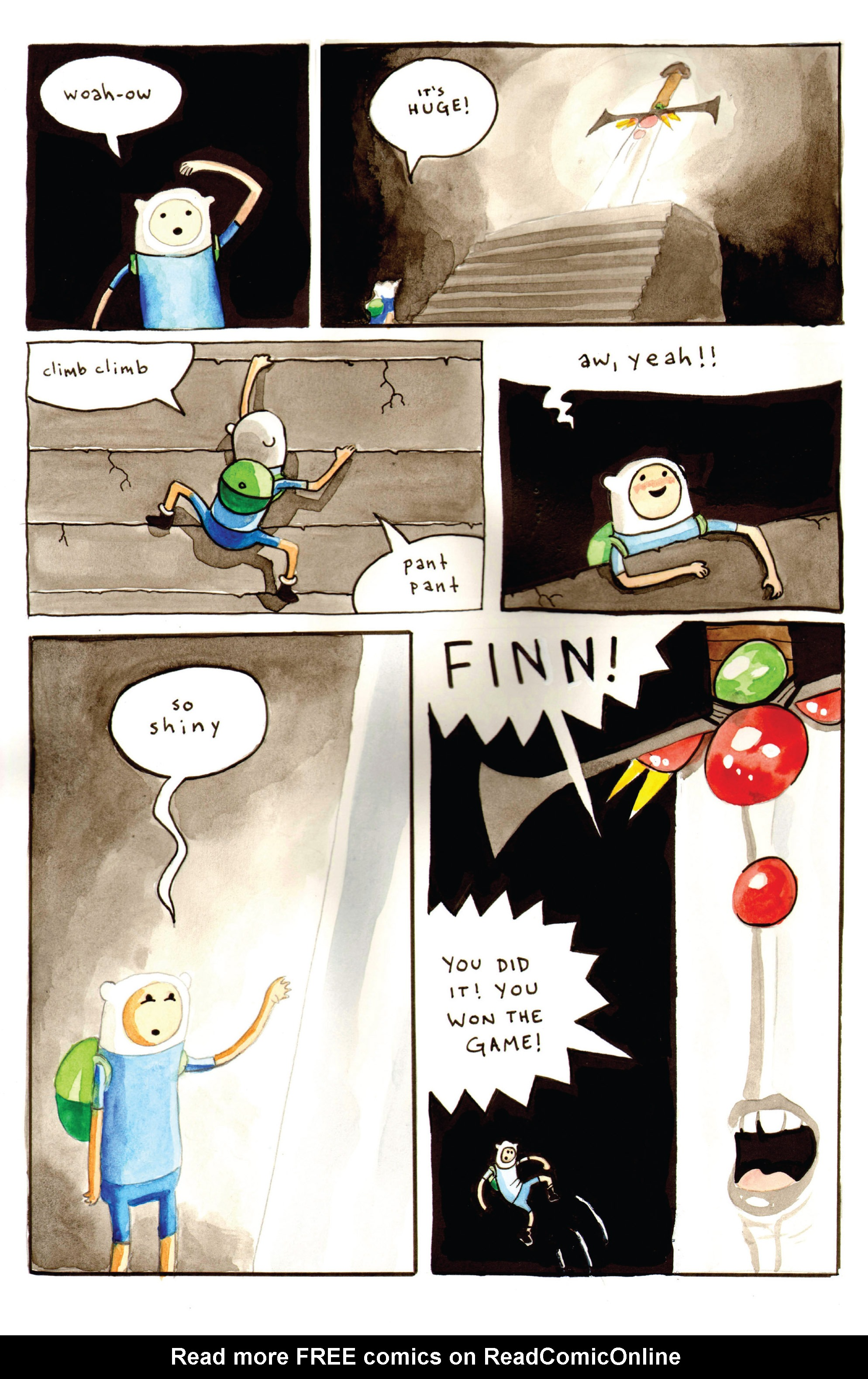 Read online Adventure Time comic -  Issue #Adventure Time _Annual 1 - 13