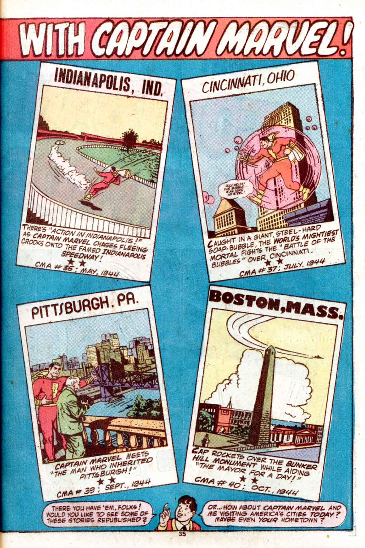 Read online Shazam! (1973) comic -  Issue #15 - 35