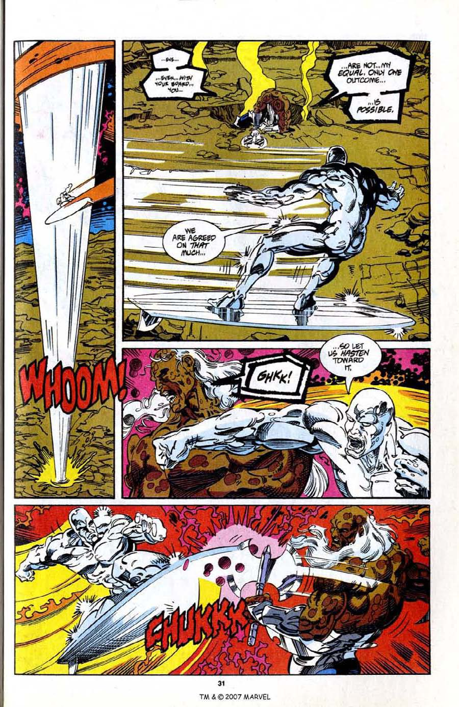 Read online Silver Surfer (1987) comic -  Issue # _Annual 7 - 33