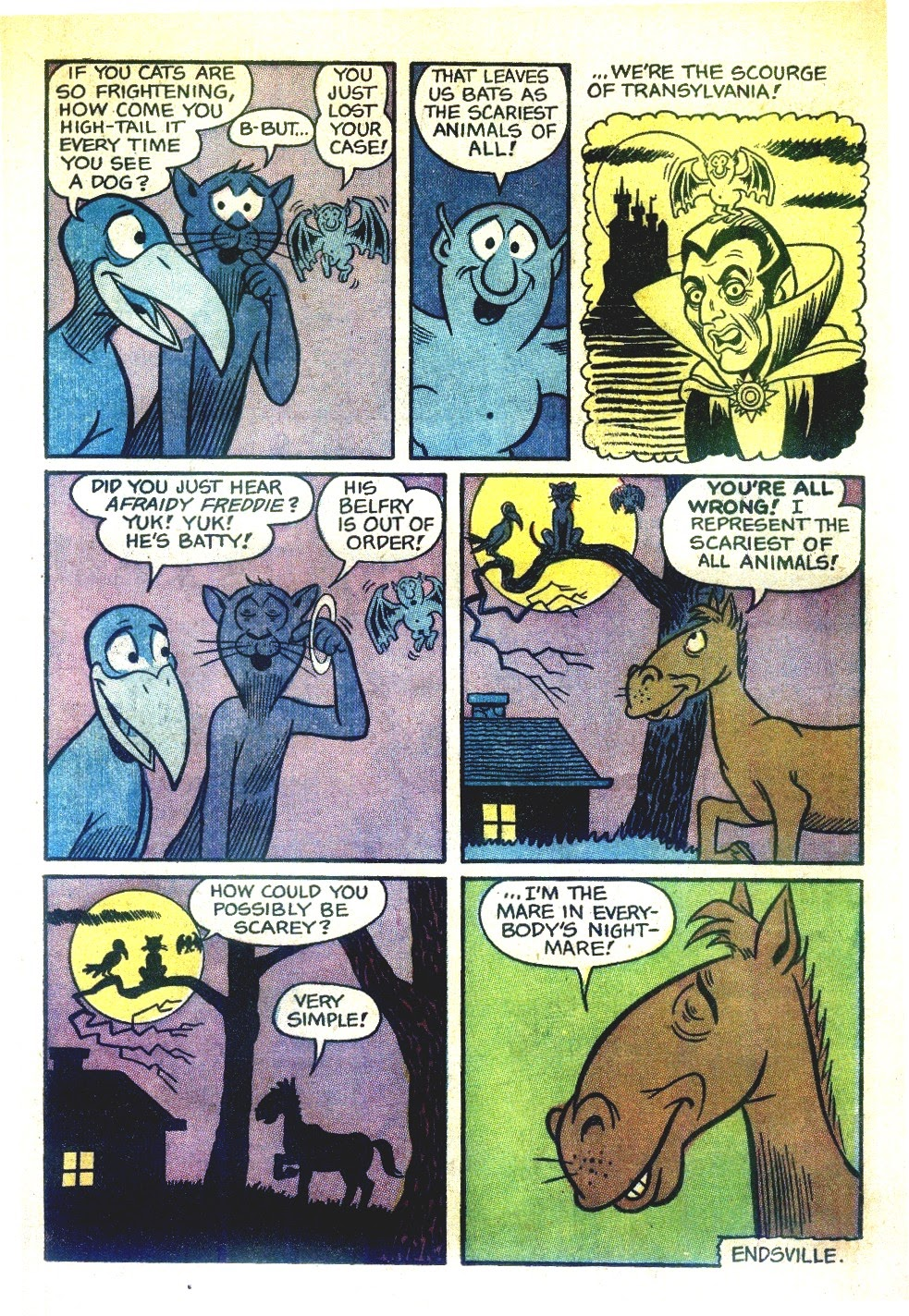 Read online Tales Calculated to Drive You Bats comic -  Issue #6 - 11