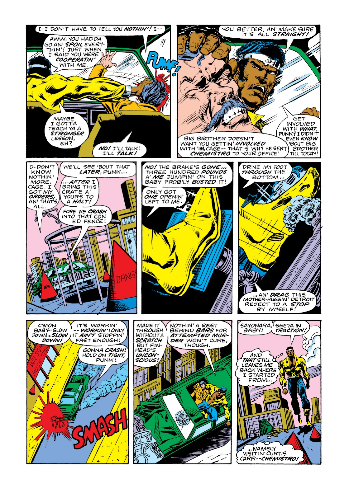 Read online Marvel Masterworks: Luke Cage, Power Man comic -  Issue # TPB 3 (Part 2) - 27