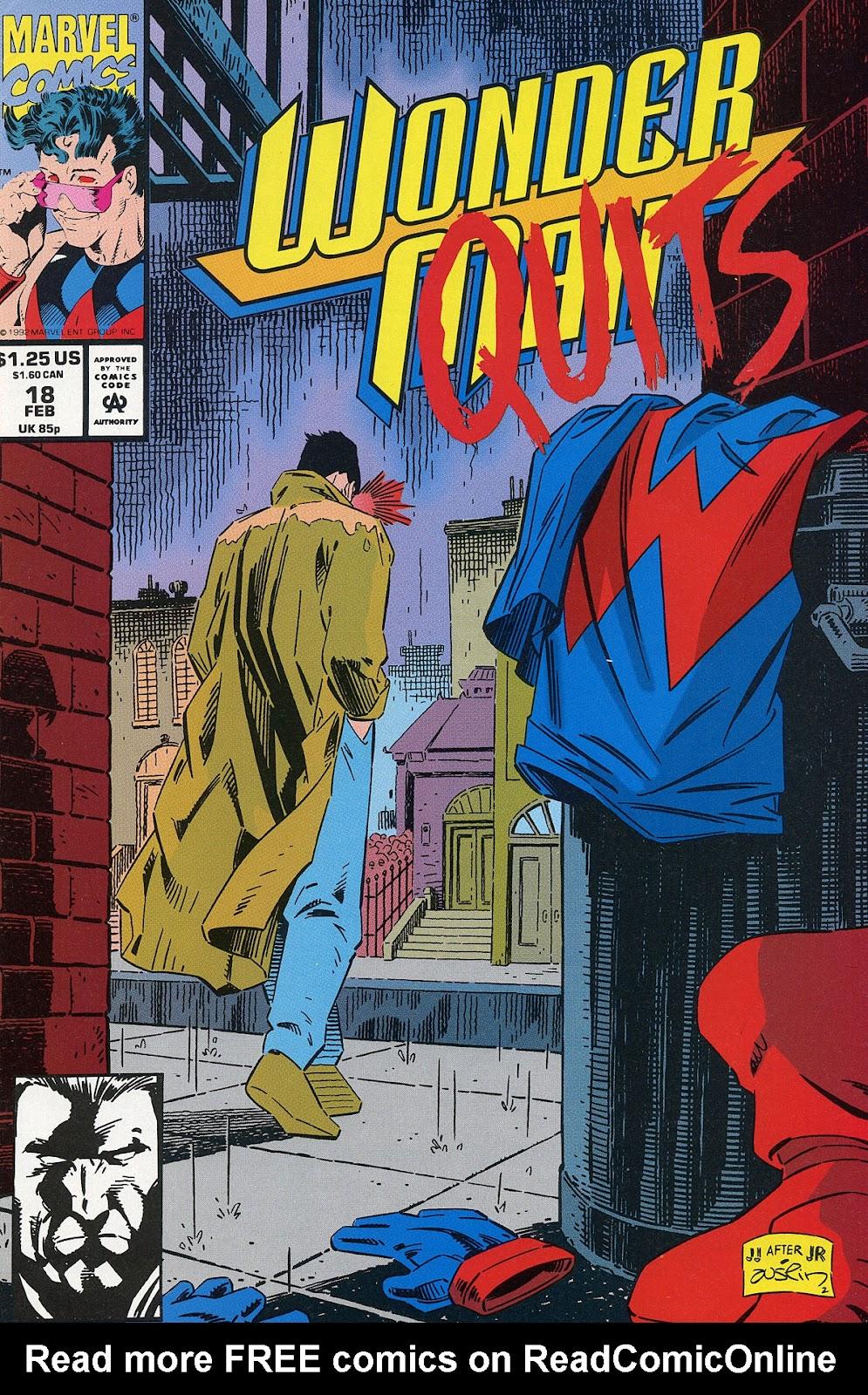 Wonder Man (1991) 18 Page 1
