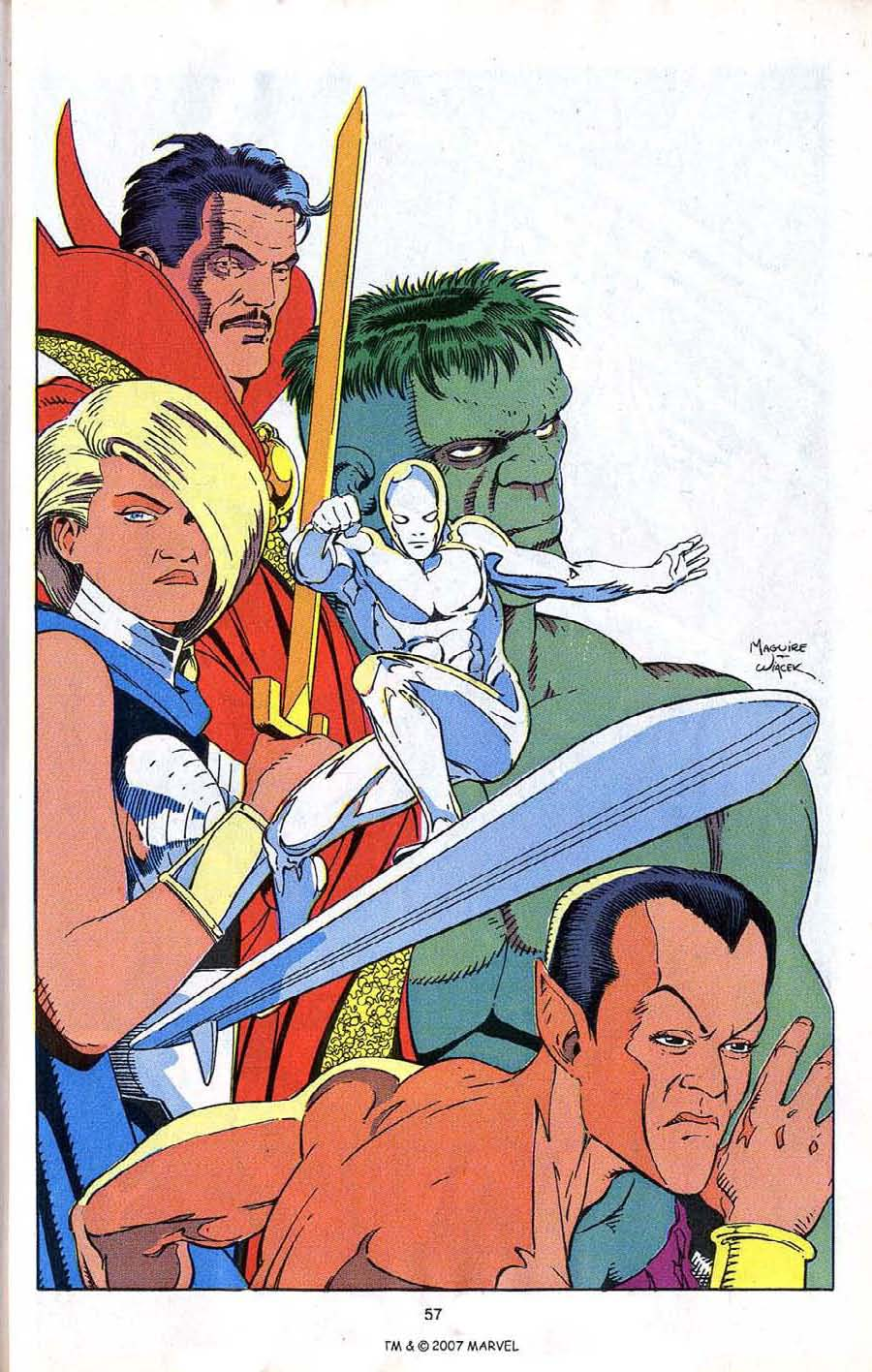Read online Silver Surfer (1987) comic -  Issue # _Annual 4 - 59